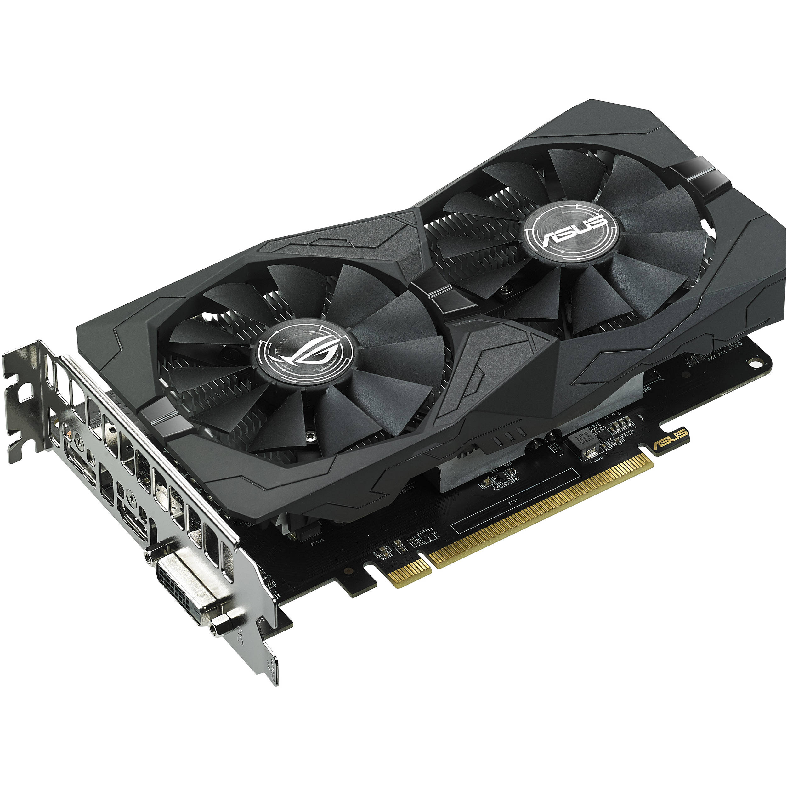 ASUS Republic of Gamers Strix Radeon RX 560 Gaming Graphics Card