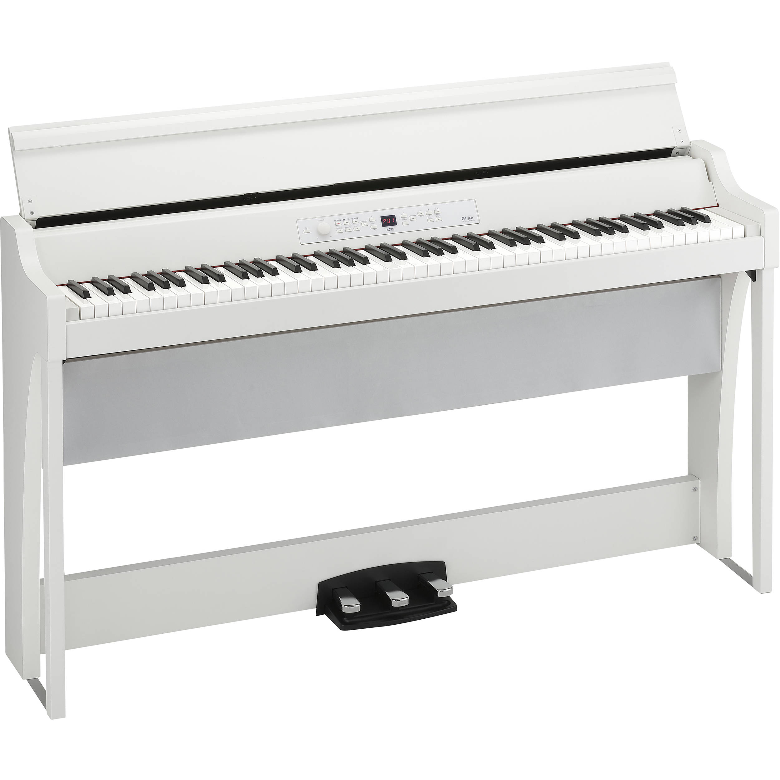 Korg G1 Air Digital Piano with Bluetooth (White)