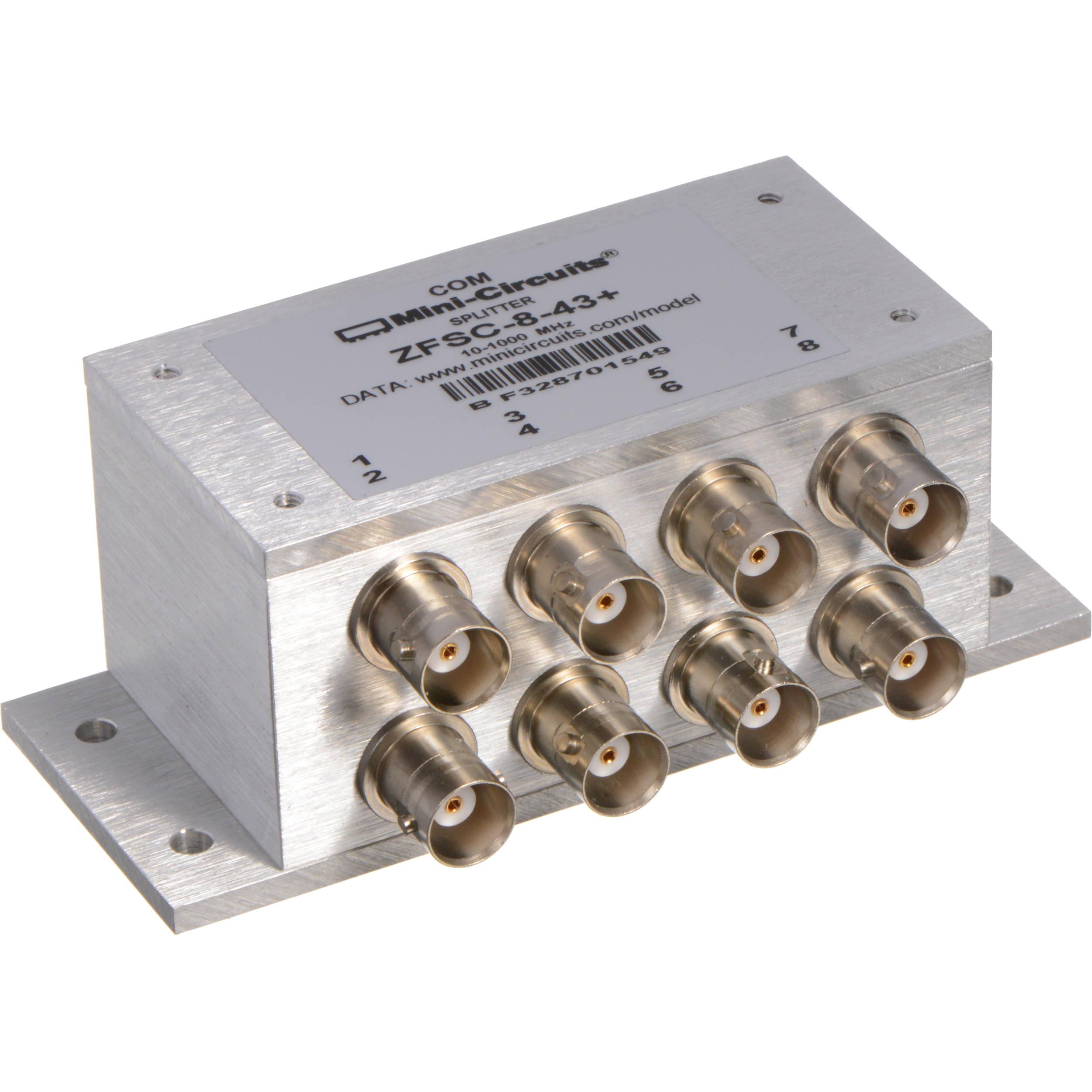 Lectrosonics ZFSC843 8-Way Passive RF Signal Splitter