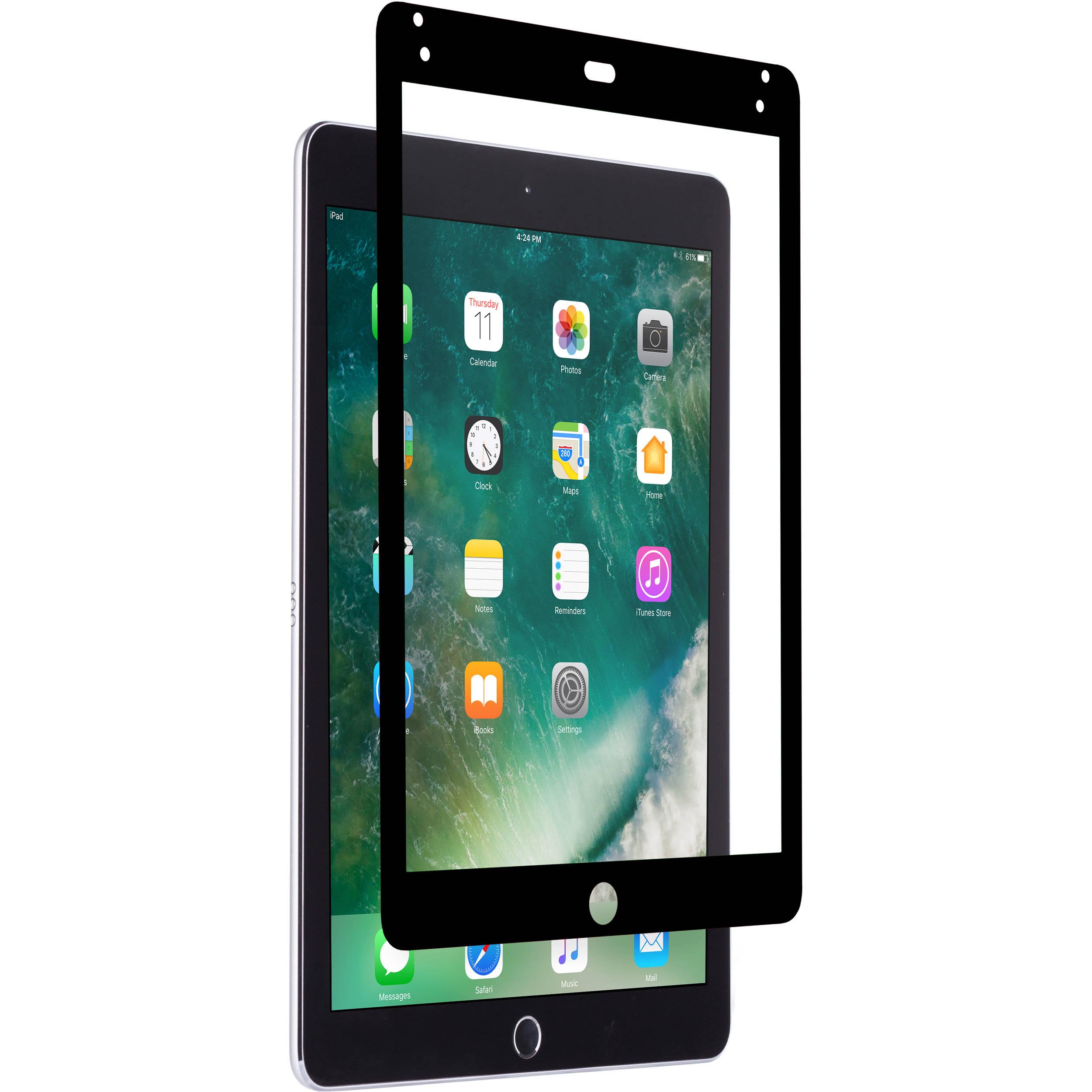 Moshi iVisor AG Screen Protector for iPad Pro 9 7 & iPad Air 2 (Black)