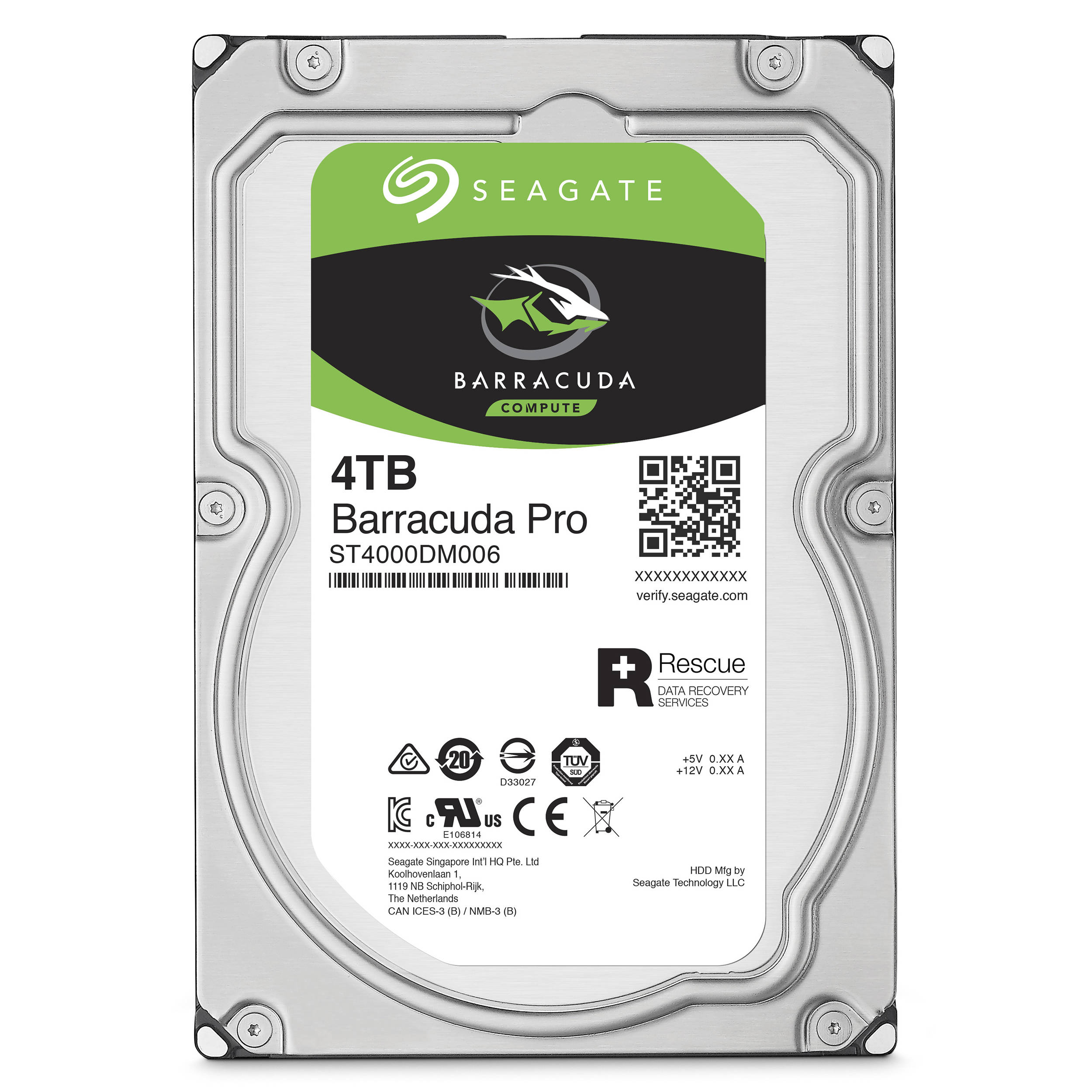 Tim uses Seagate's Barracuda HDD with 4 TB of space