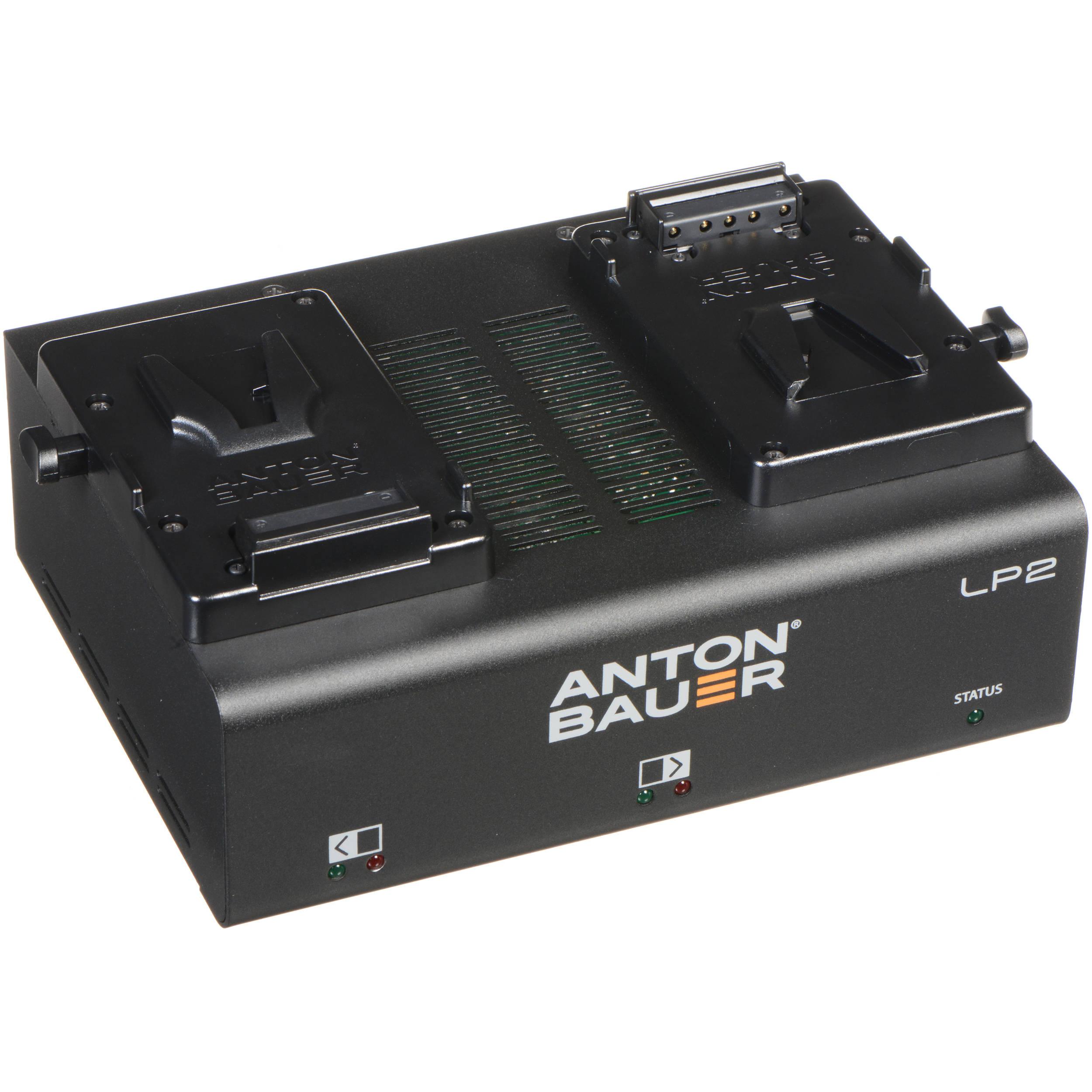 halvin katsella 100% laatu Anton Bauer LP2 Dual V-Mount Battery Charger