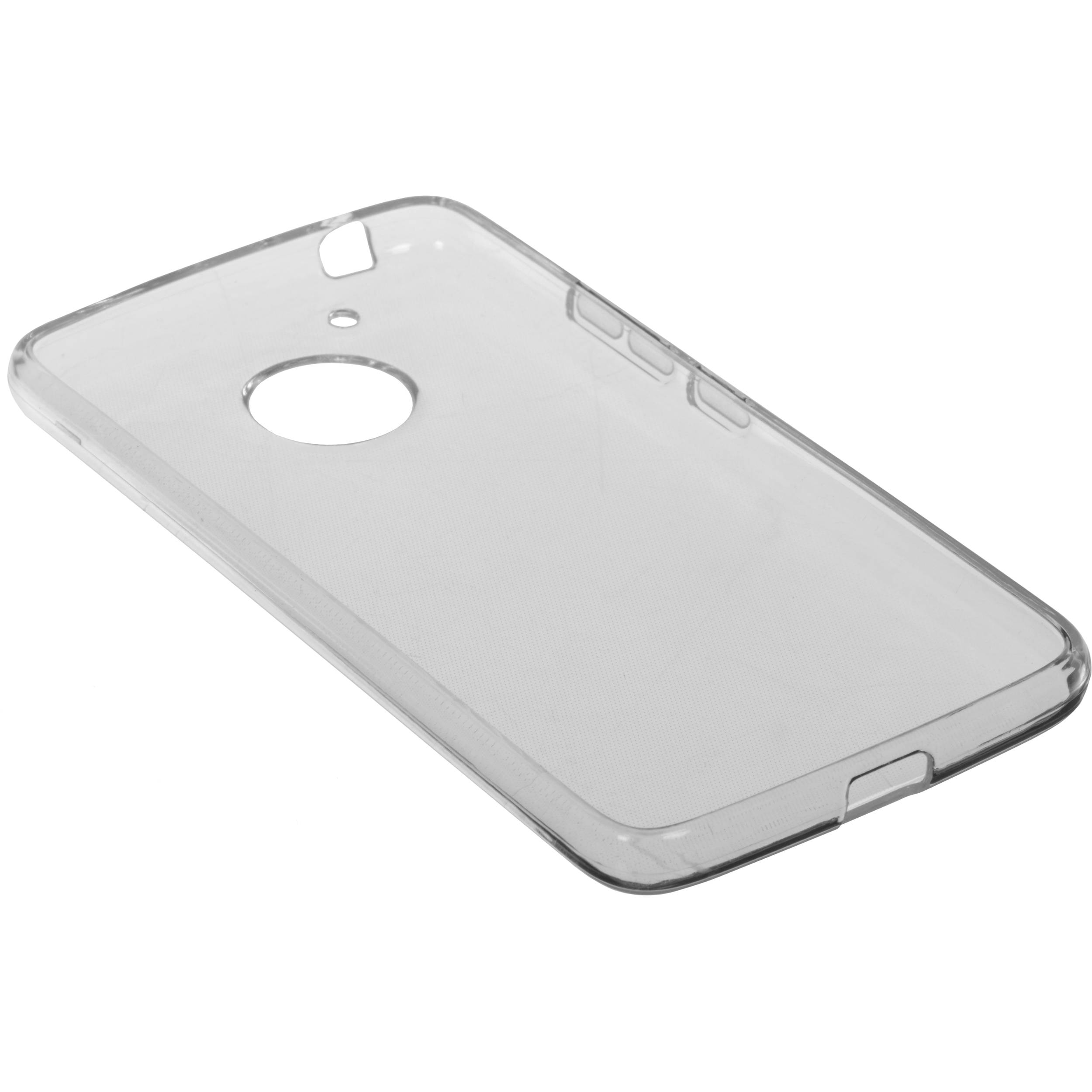 new product d0eef 6c859 BlooPro Silicone Protective Case for Motorola Moto G5 Plus (Clear)