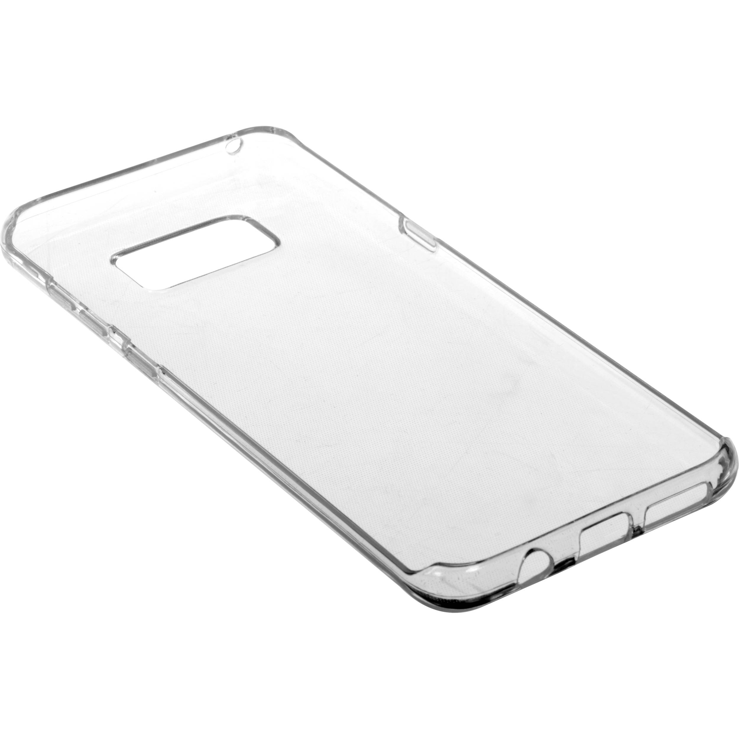 brand new 10a8a 04d8d BlooPro Silicone Protective Case for Galaxy S8+ (Clear)