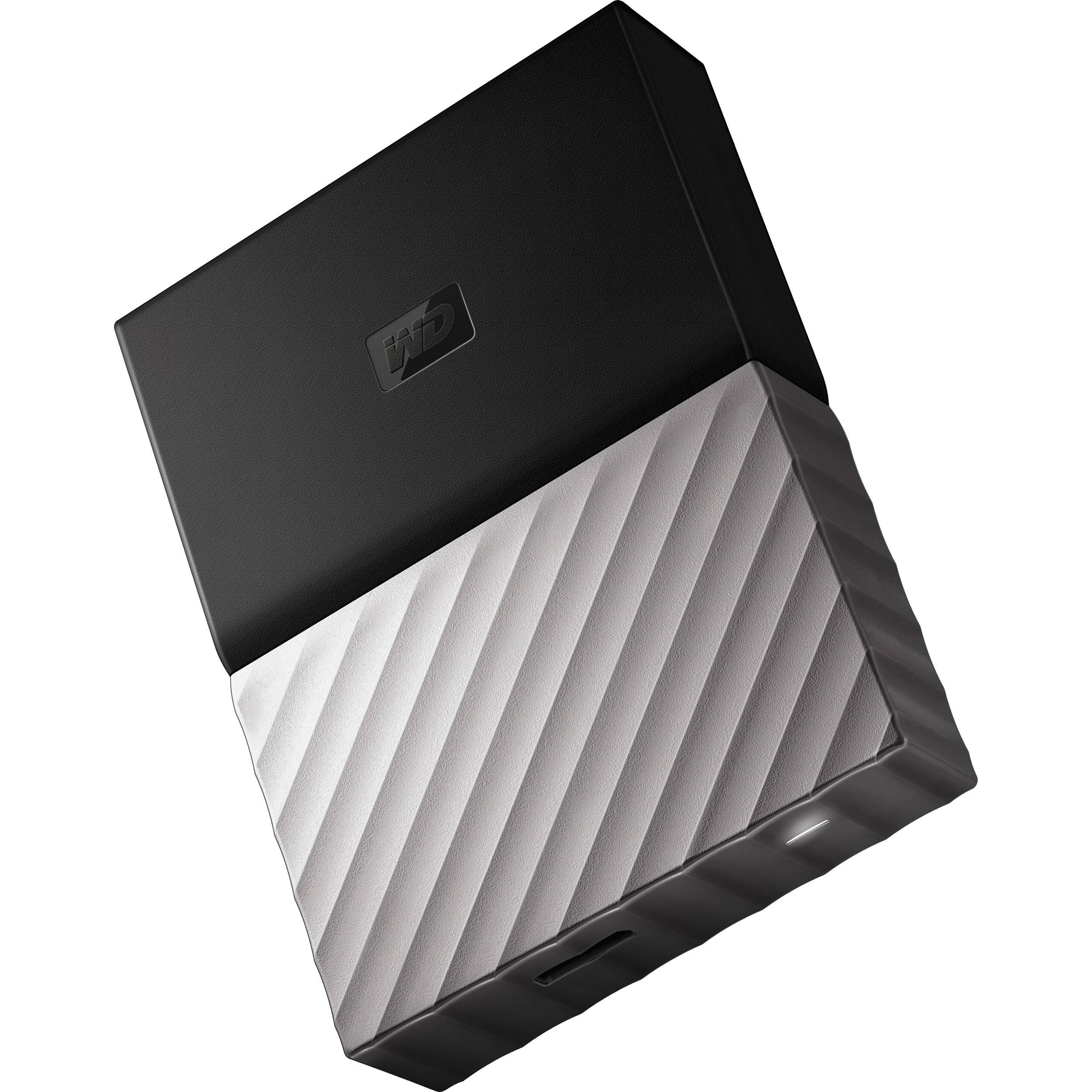 WD 3TB My Passport Ultra USB 3 0 External Hard Drive (Black/Gray)