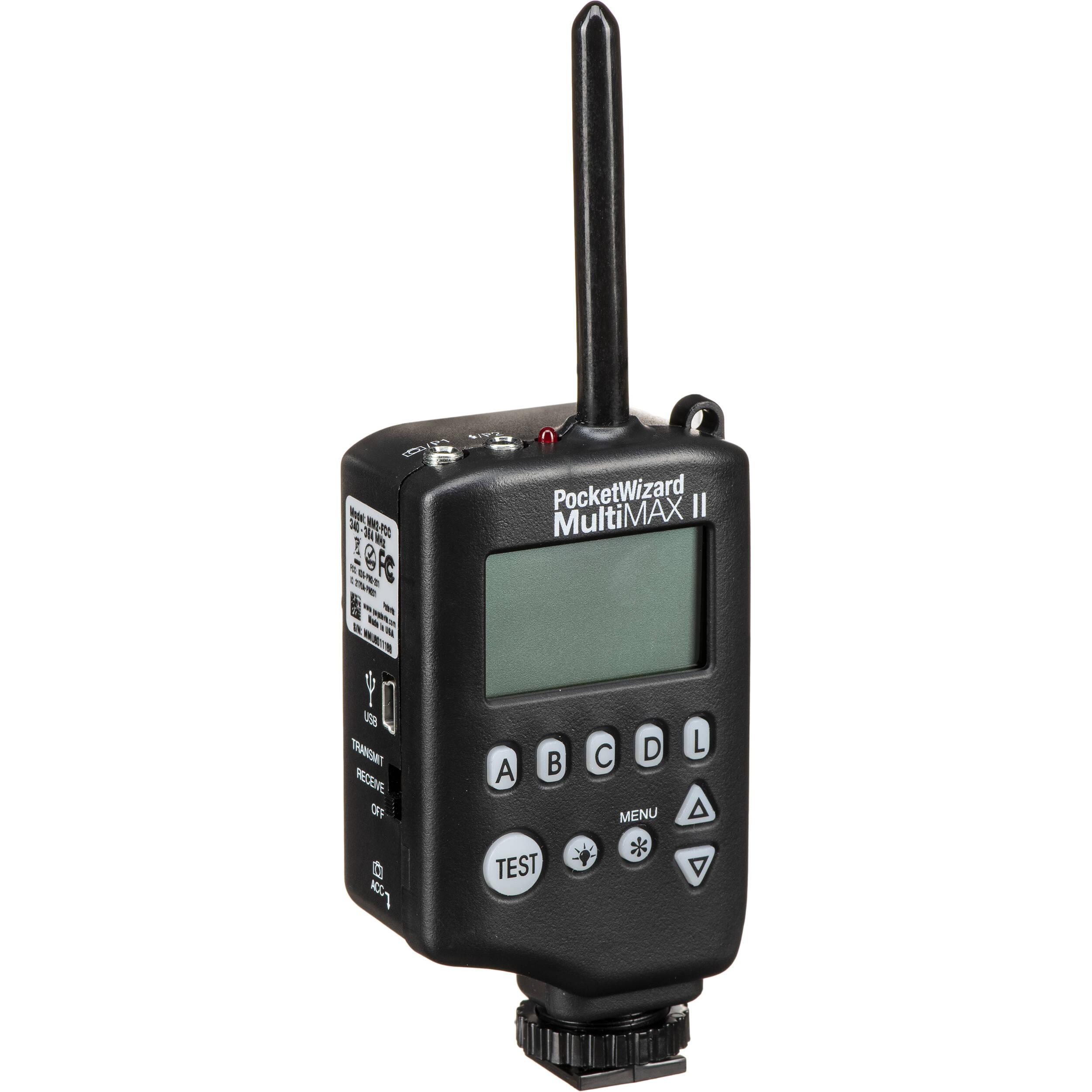 Remote Control Radio Slave. PocketWizard MultiMAX II Transceiver
