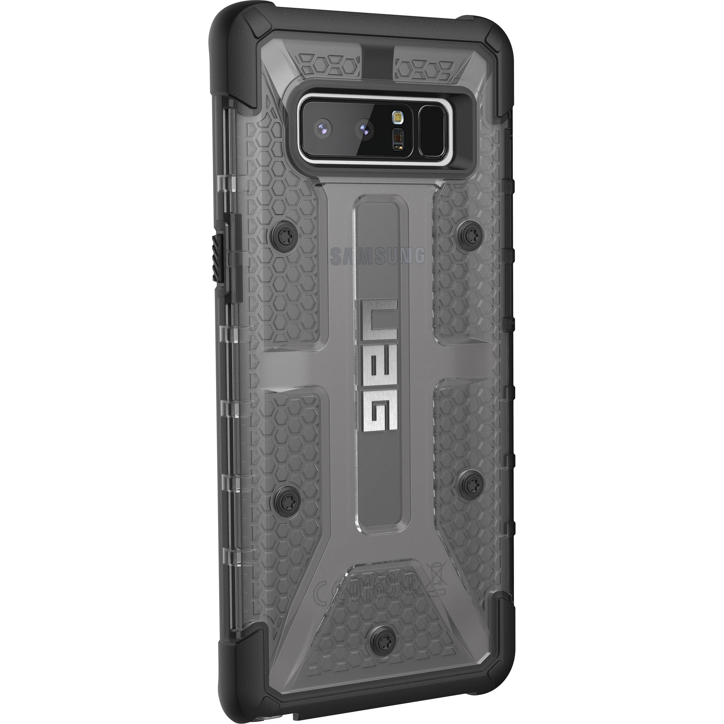 purchase cheap 81558 bcb0b Urban Armor Gear Plasma Case for Galaxy Note 8 (Ash)