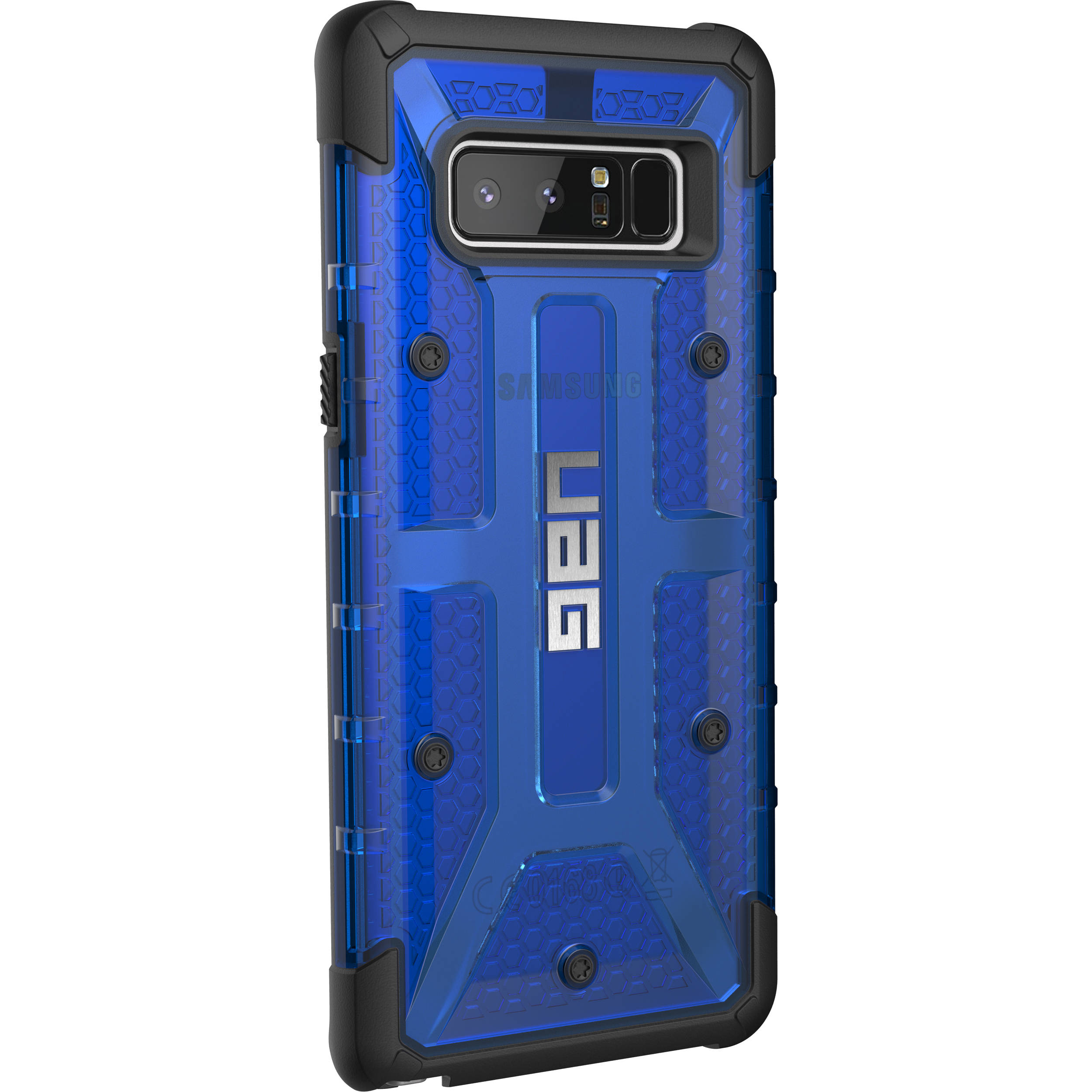 check out d15c8 16dfd Urban Armor Gear Plasma Case for Galaxy Note 8 (Cobalt)