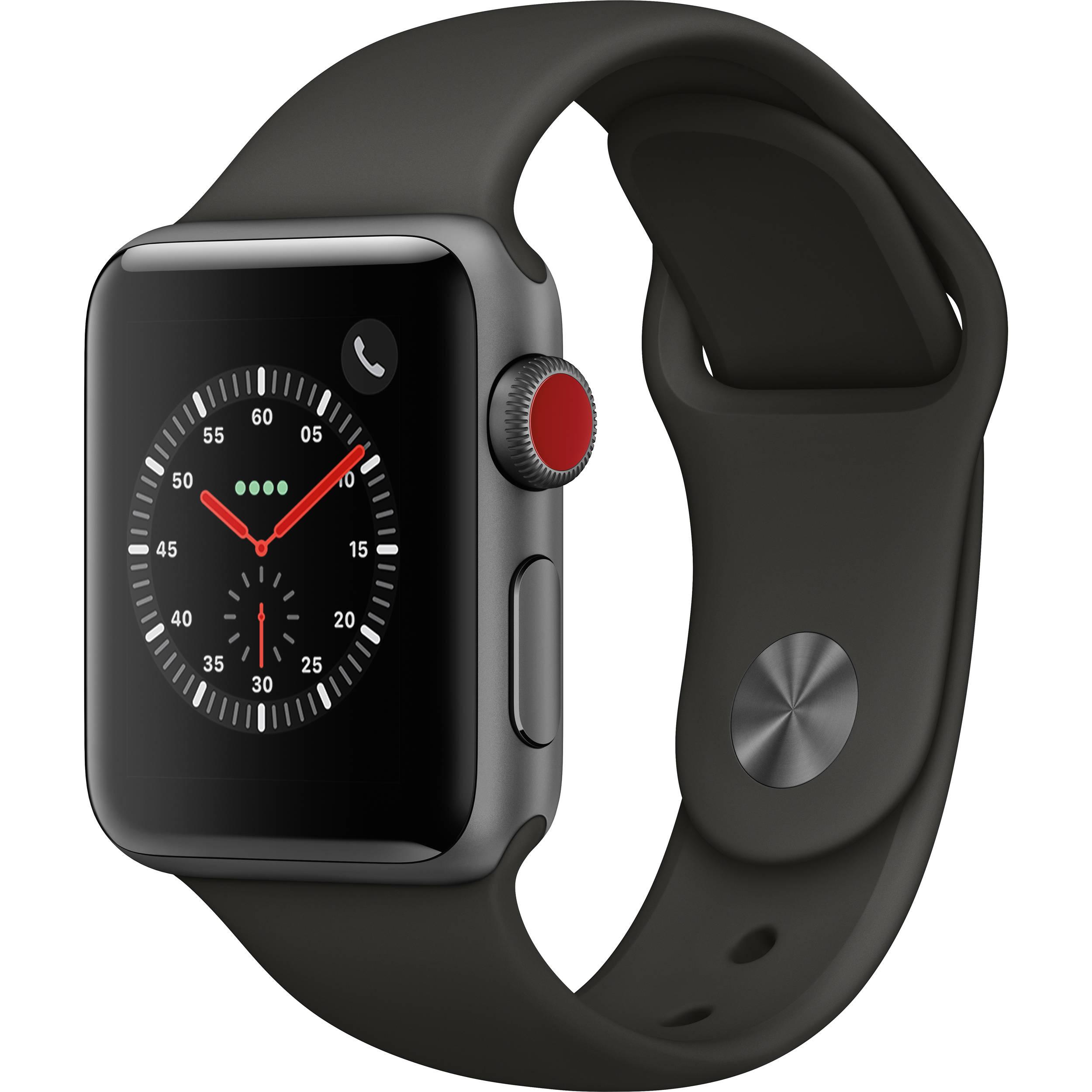 Apple Watch Series 3 38mm Smartwatch MR2W2LL/A B&H Photo Video