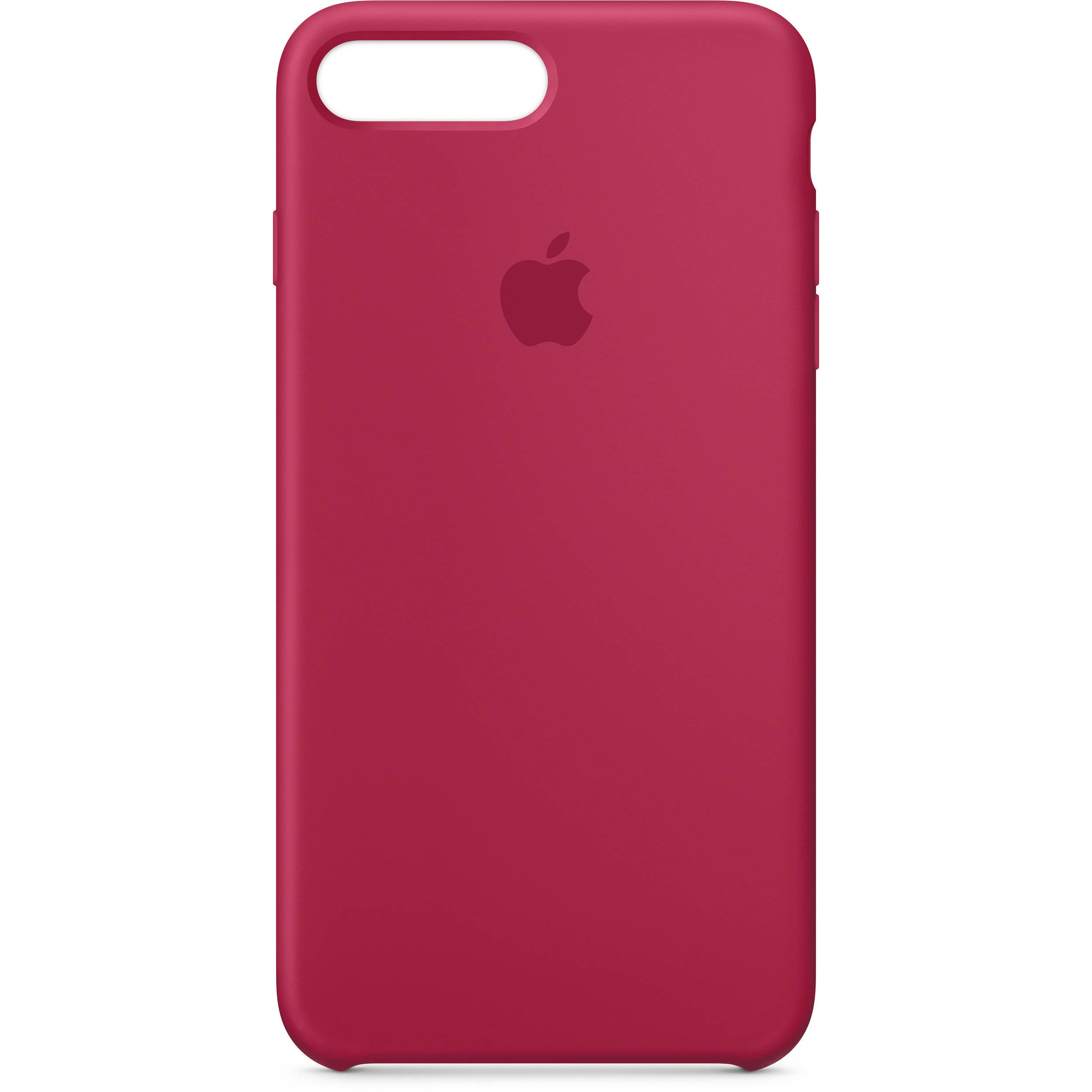 brand new 06996 f9c70 Apple iPhone 7 Plus/8 Plus Silicone Case (Rose Red)