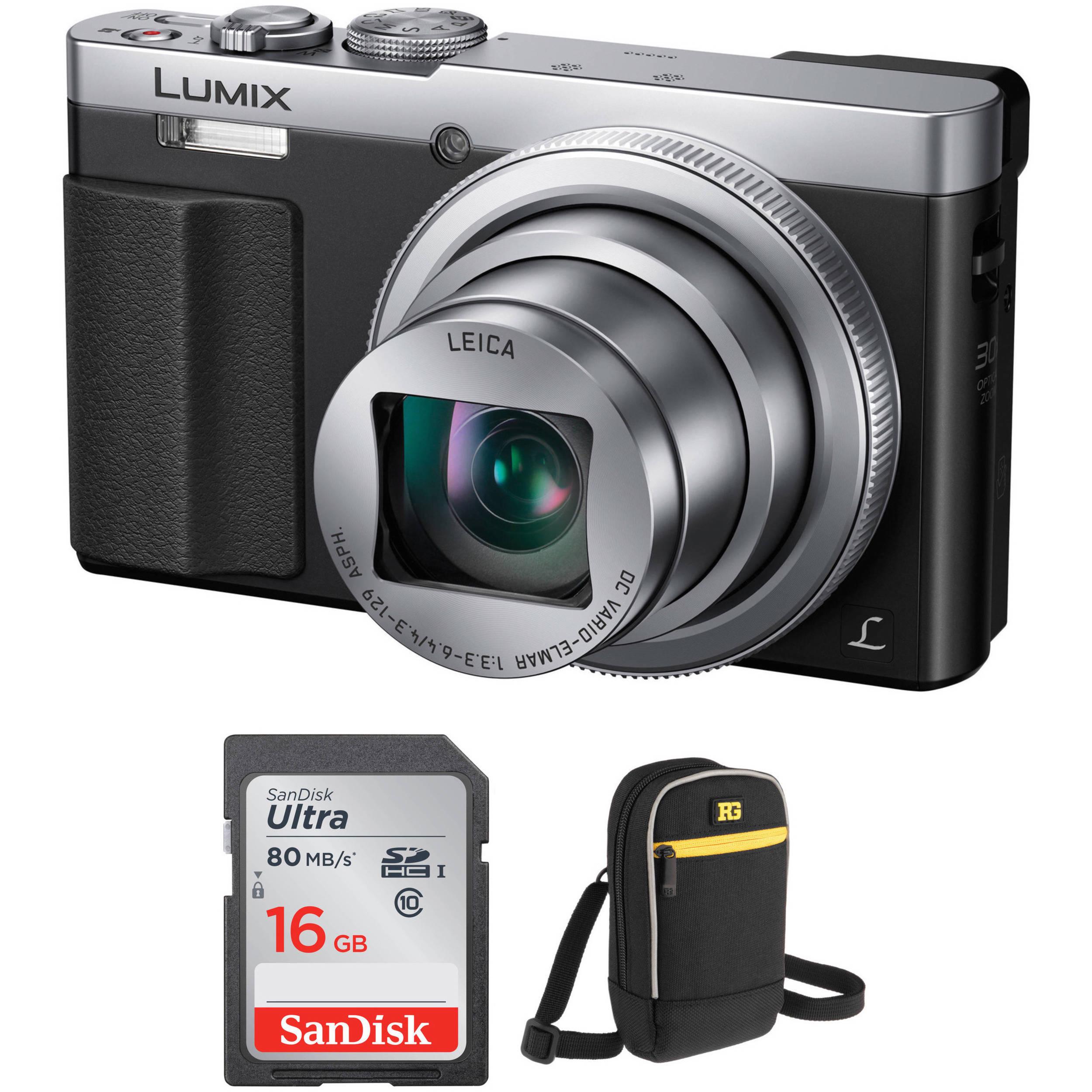 SDXC Memory Card Panasonic Lumix DMC-ZS60 Digital Camera Memory Card 2X 64GB Secure Digital Class 10 Extreme Capacity 2 Pack