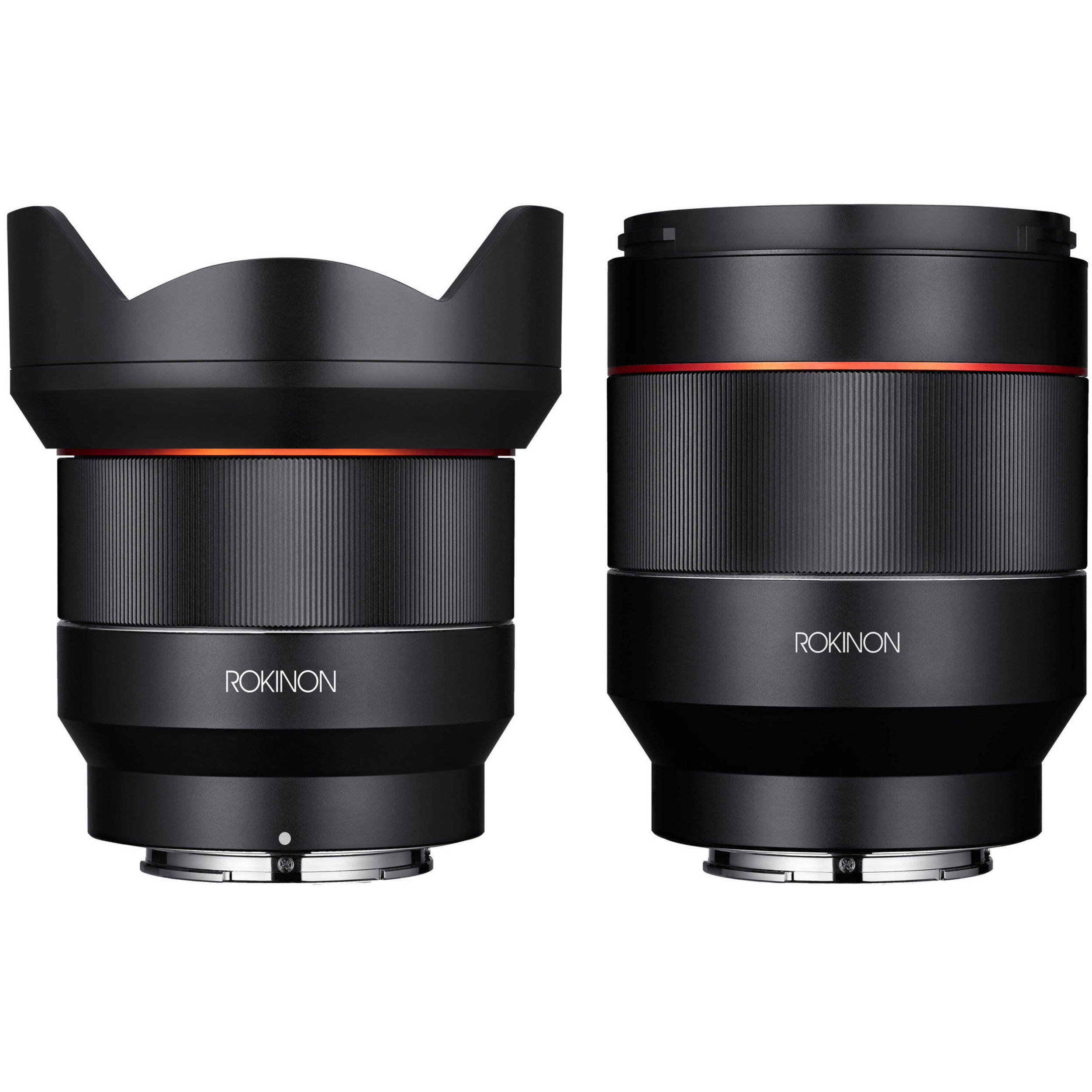 Rokinon AF 14mm f/2 8 and 50mm f/1 4 FE Lenses Kit for Sony E