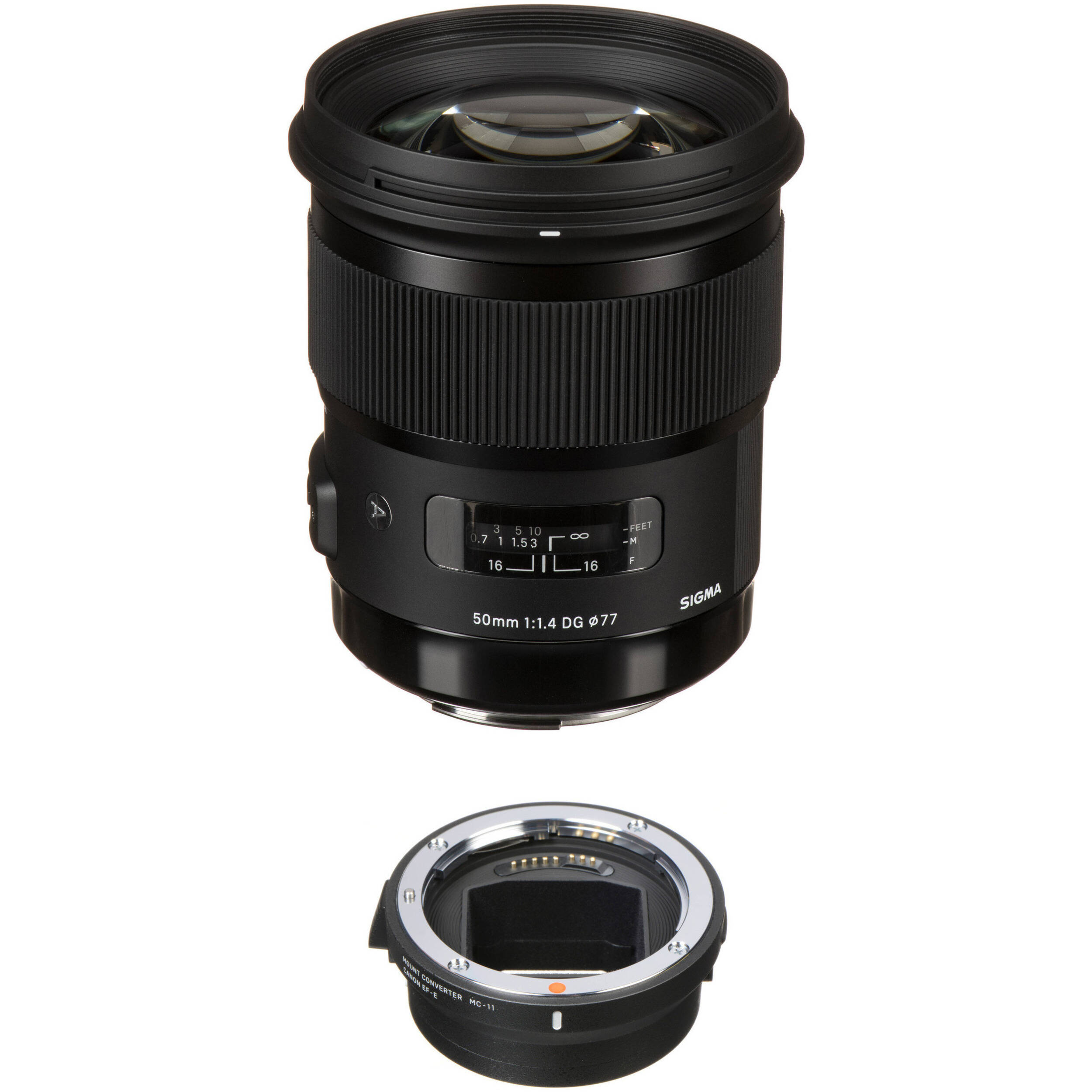 Sigma 50mm F 1 4 Dg Hsm Art Lens For Canon Ef And Mc 11 Mount