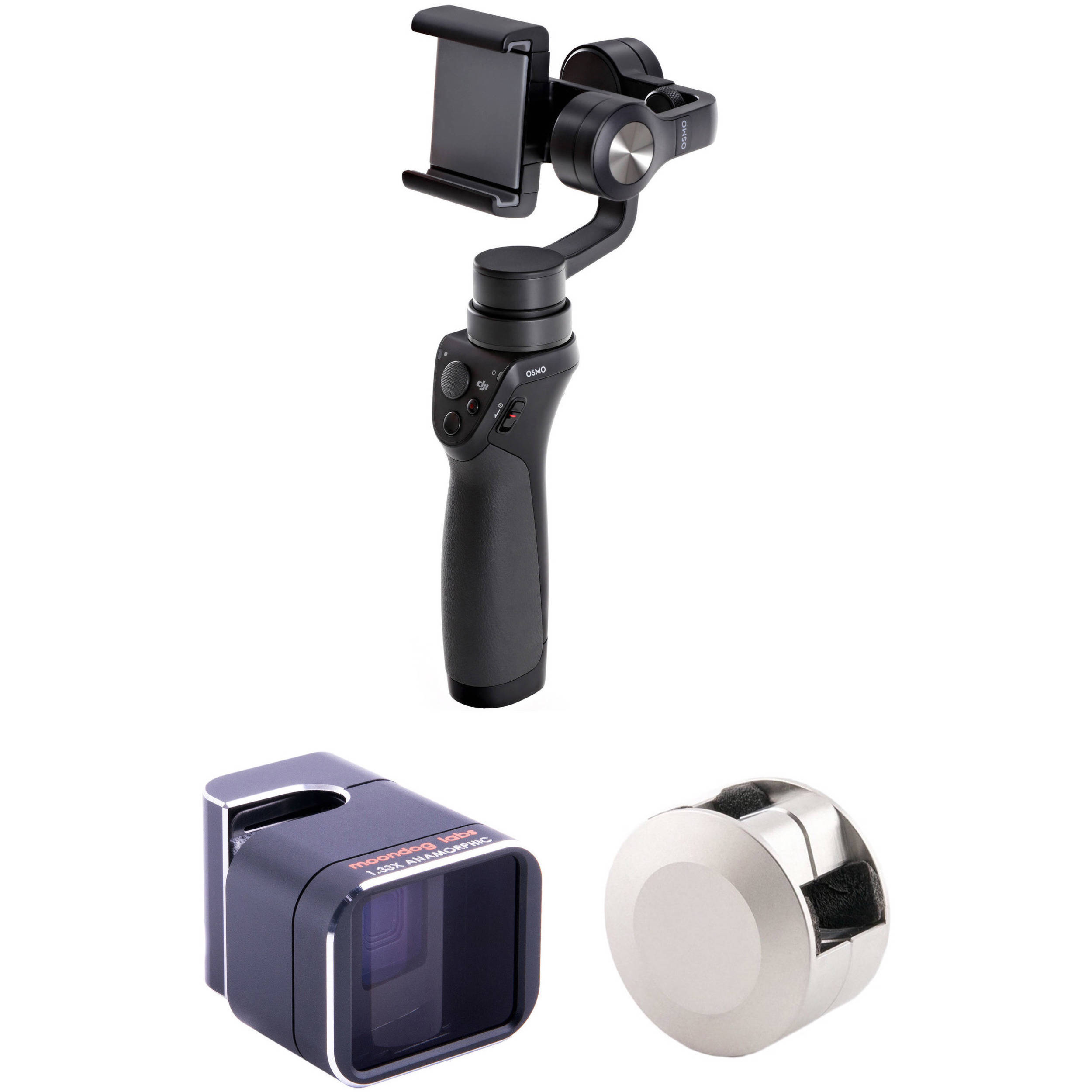 official photos e717b 4b038 DJI Osmo Mobile with Adapter Lens Kit for iPhone 6 Plus/6s Plus