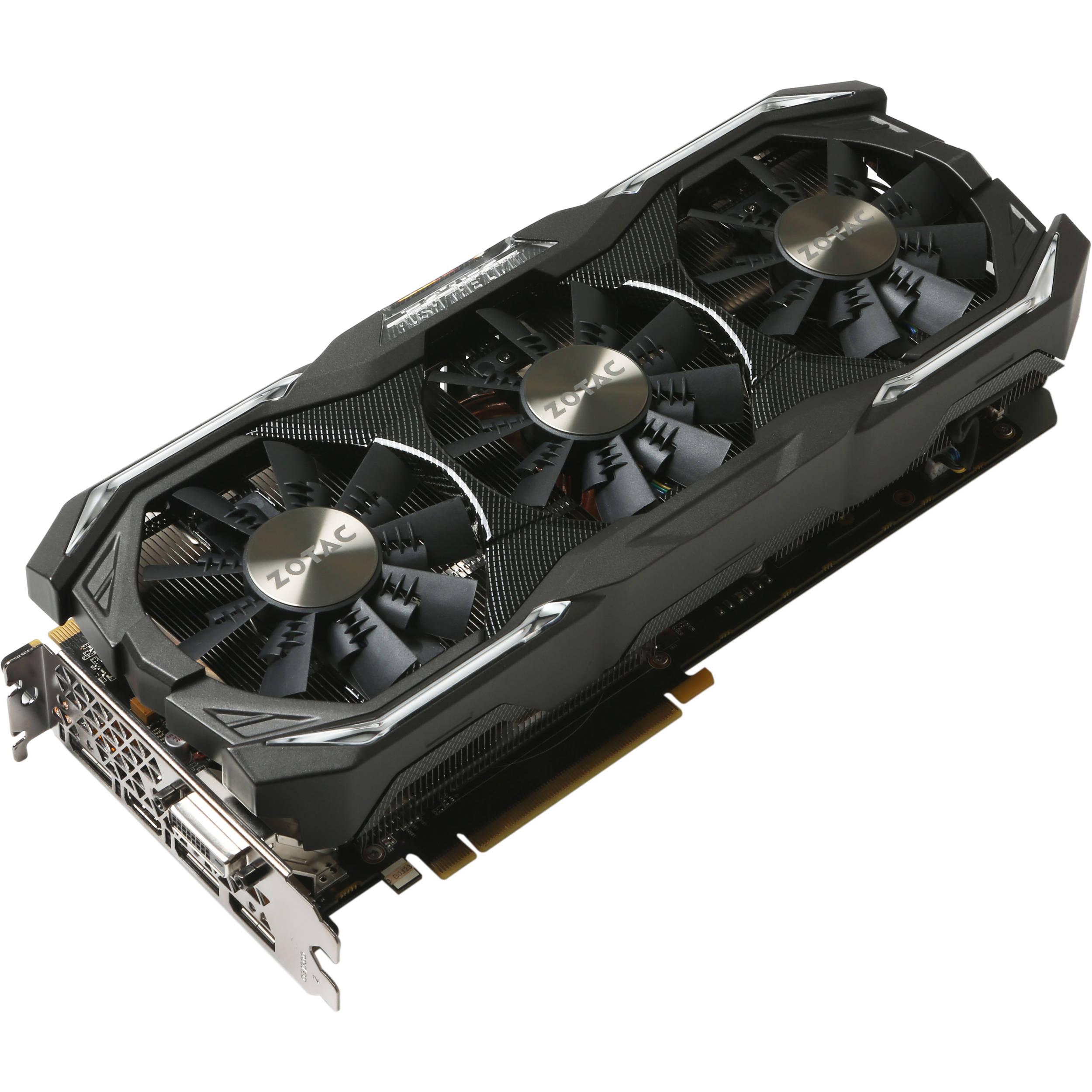 ZOTAC GeForce GTX 1070 Ti AMP! Extreme Graphics Card