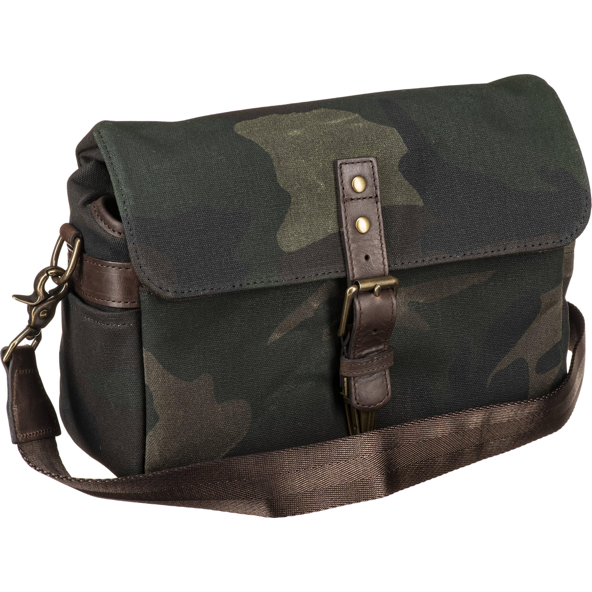 Ona Bowery Camera Bag Canvas Camouflage