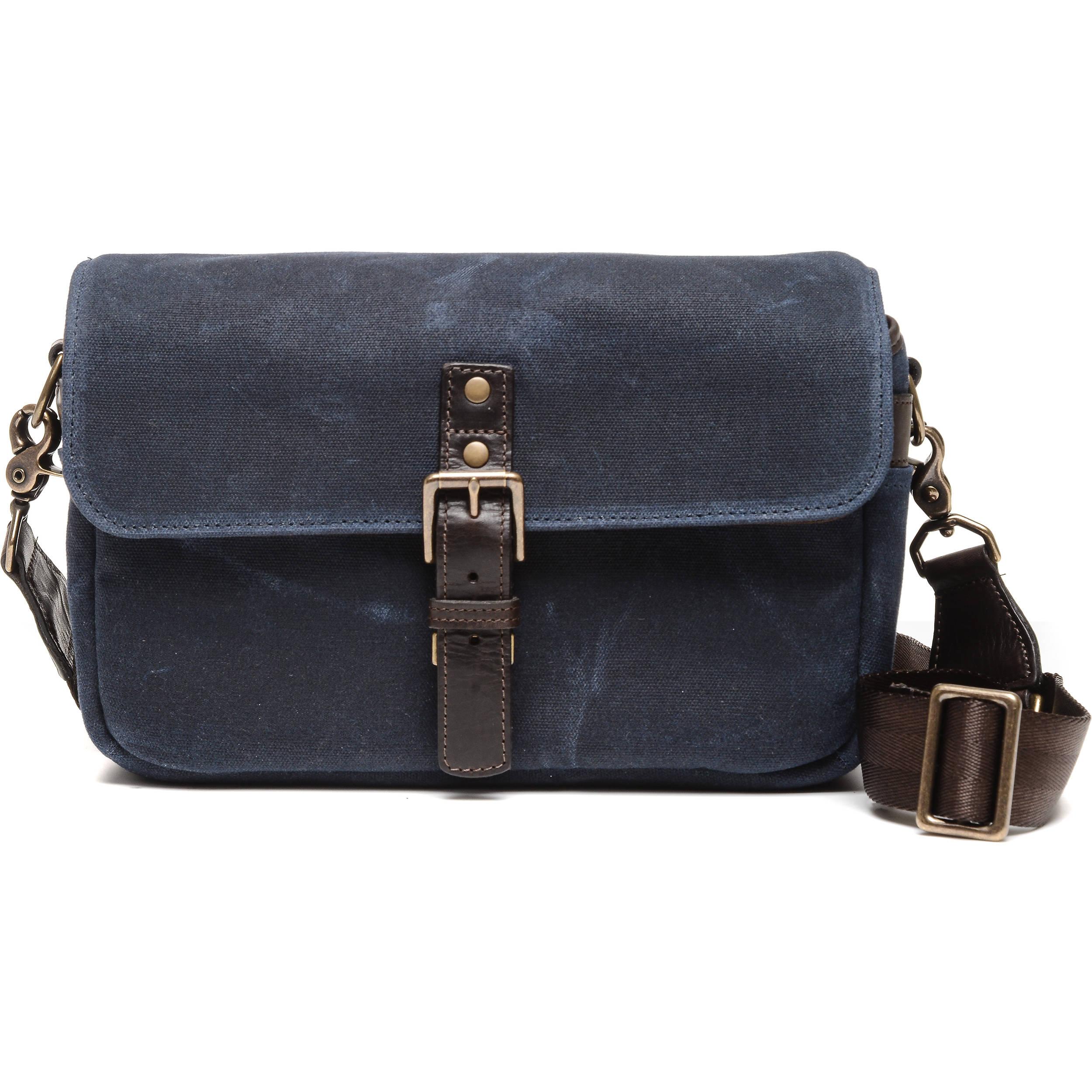 Ona Bowery Camera Bag Canvas Oxford Blue