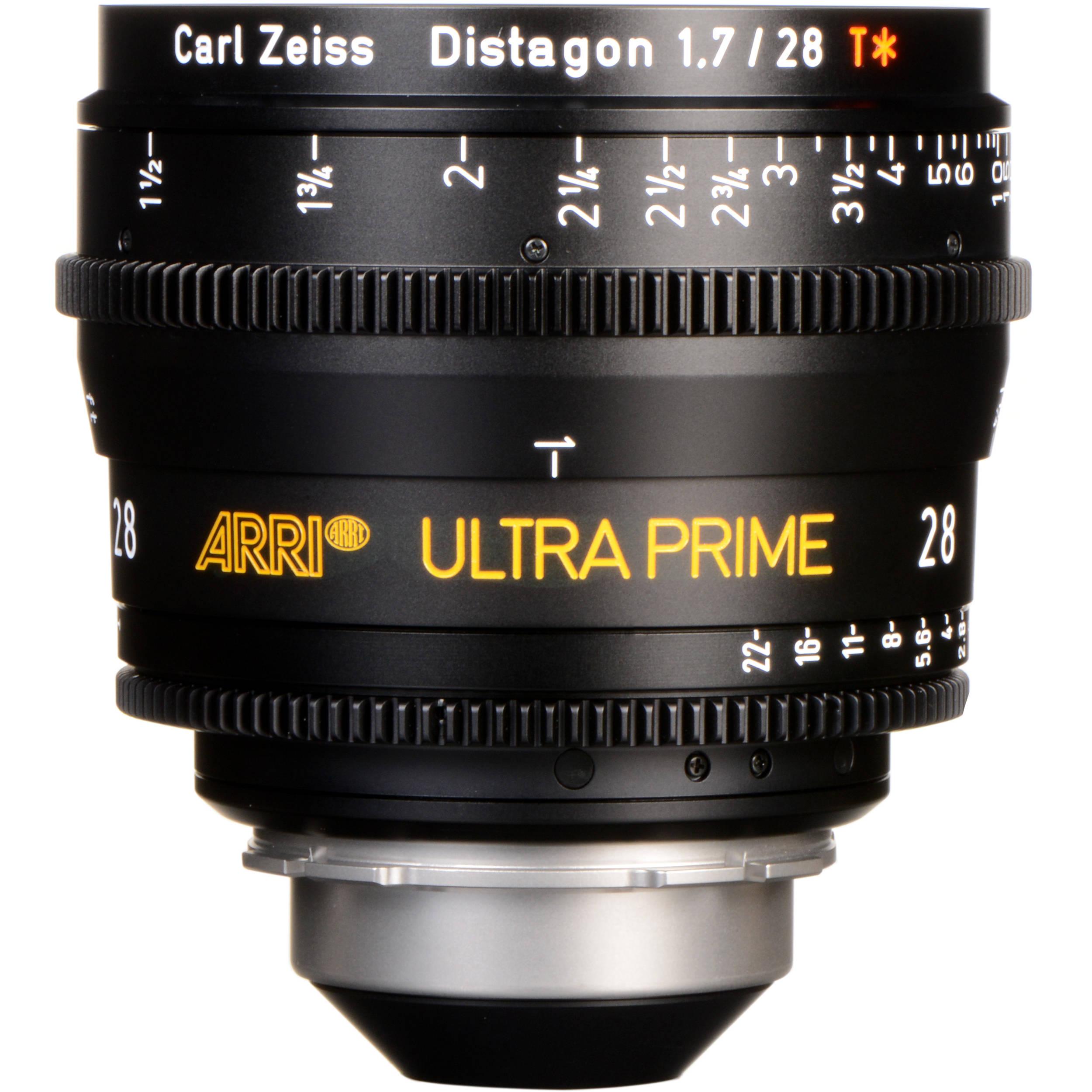 ARRI Ultra Prime 28mm T1 9 Lens (PL, Feet)