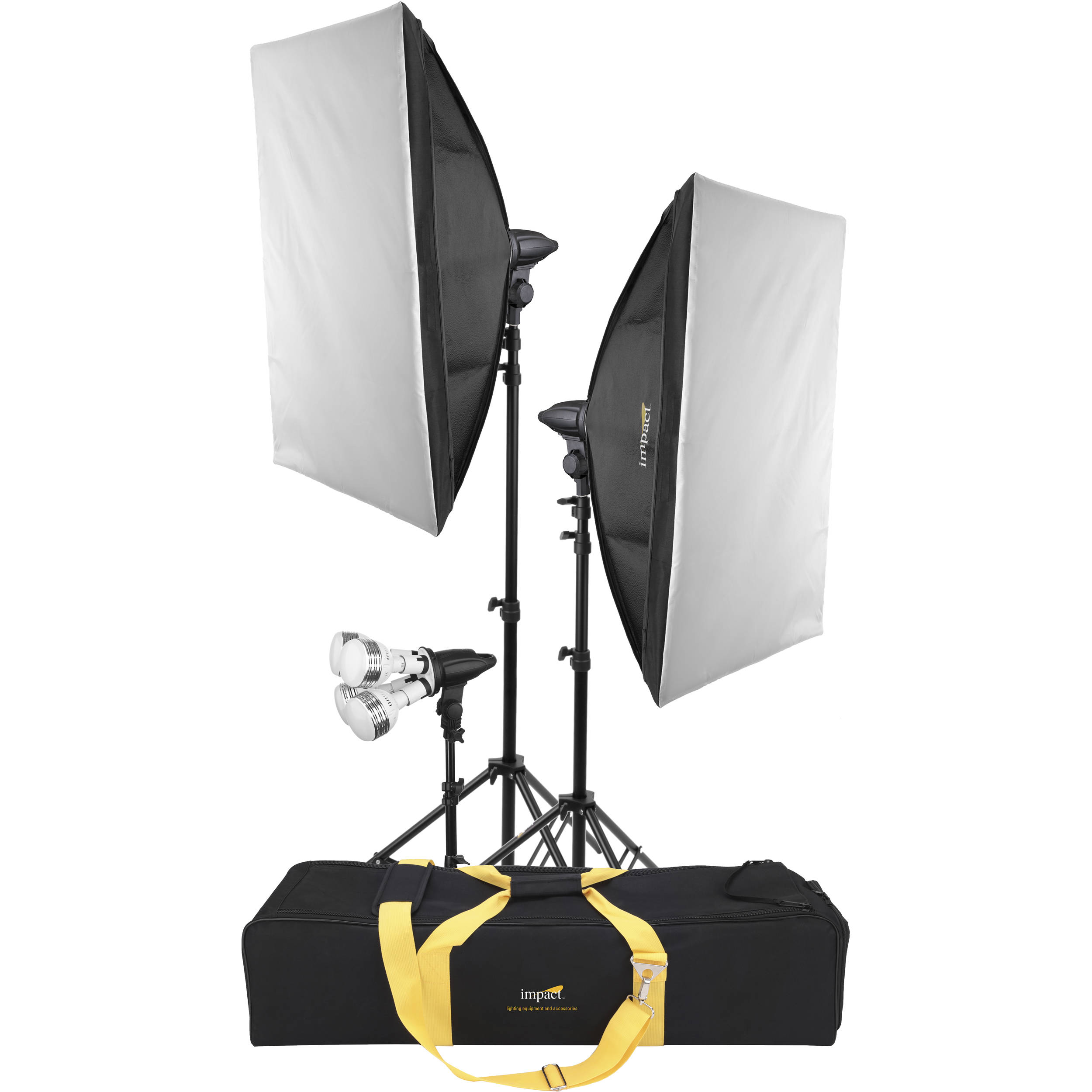 Impact Soft N Natural 3 Light Led Kit With Case
