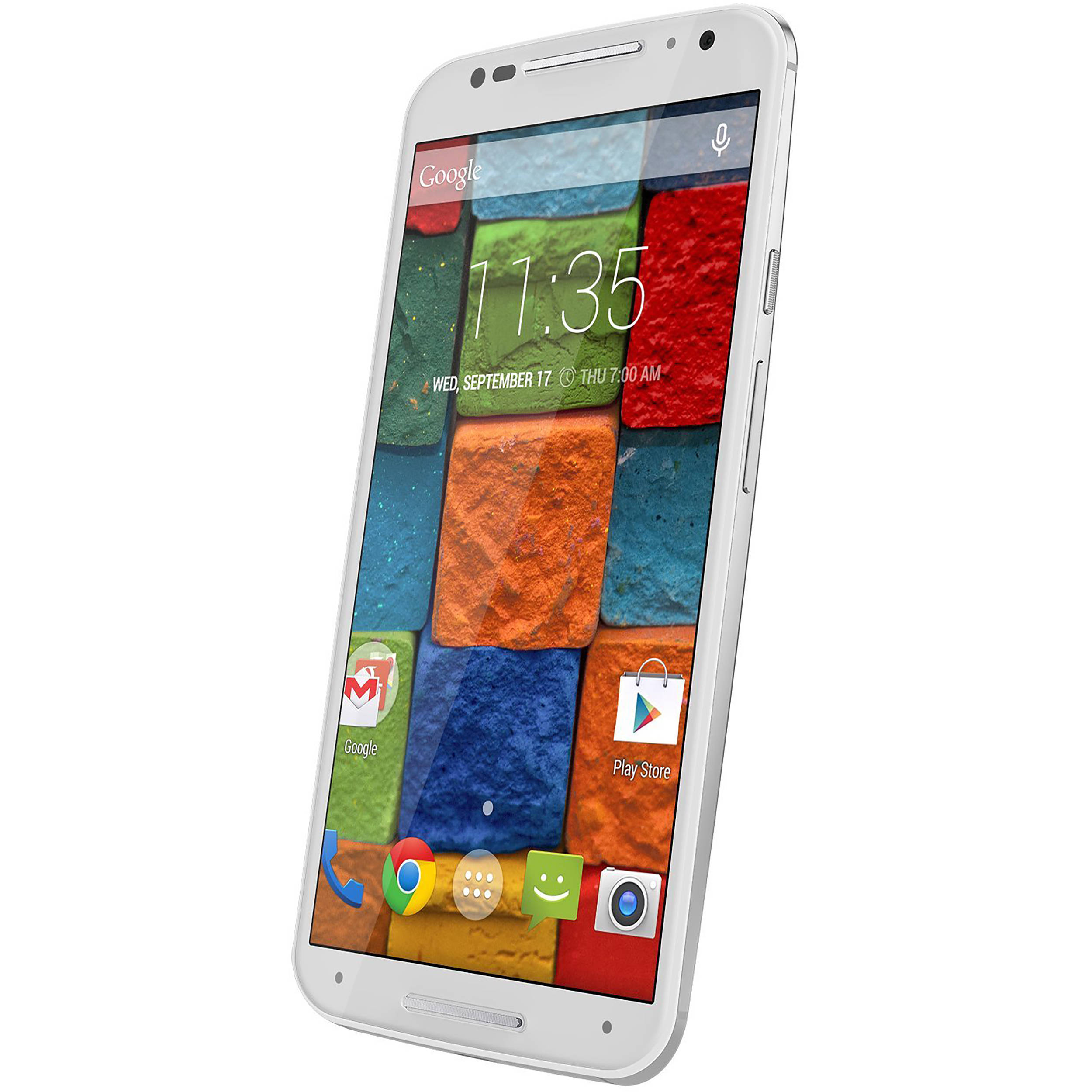 Motorola Moto X (2nd Gen) XT1097 16GB AT&T Branded Smartphone (Unlocked,  White)