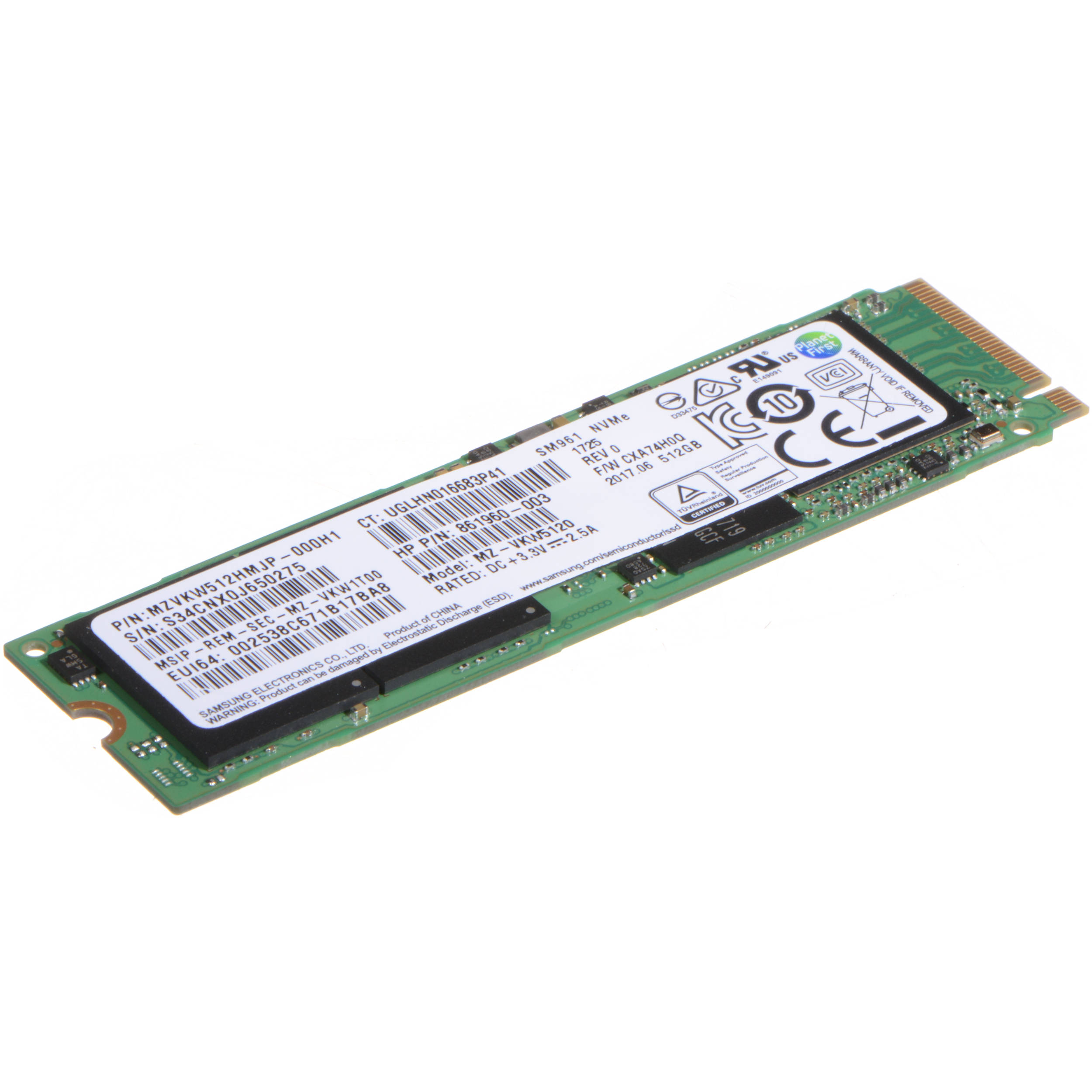 HP 256GB Z Turbo Drive G2 PCIe SSD for Z240 Motherboard