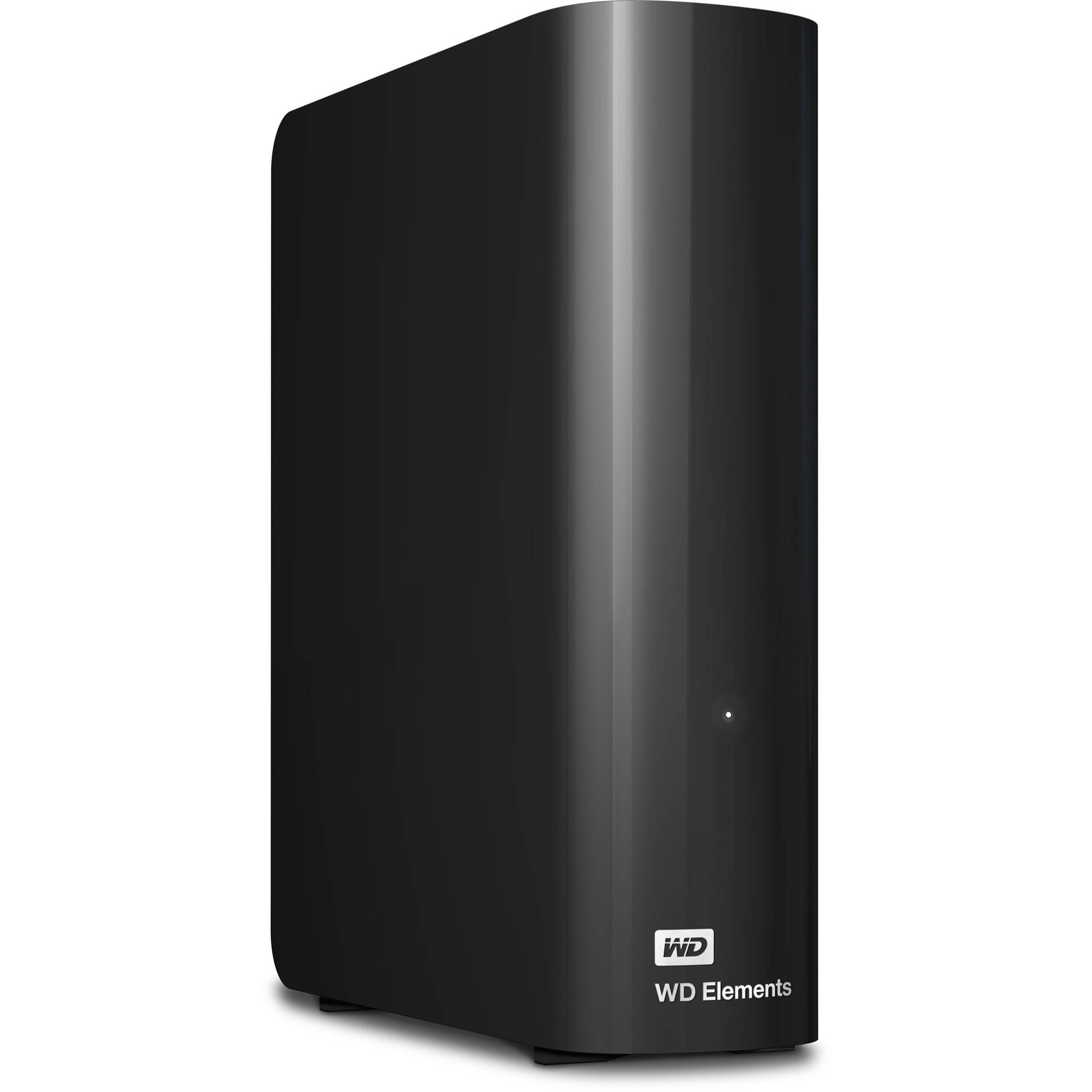 WD 6TB Elements Desktop USB 3 0 External Hard Drive