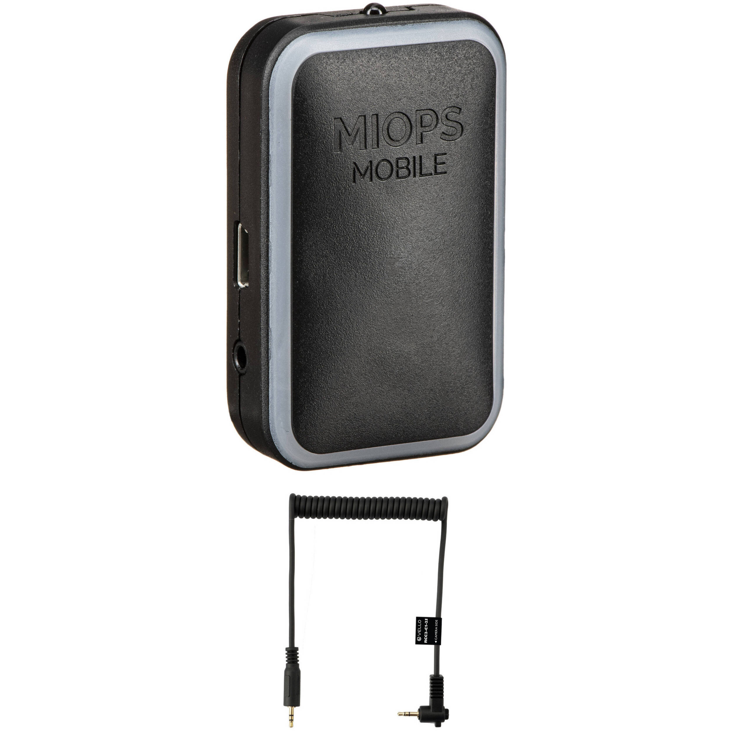 Miops MOBILE Remote with Cable Kit for Cameras with 2 5mm Sub-Mini  Connection