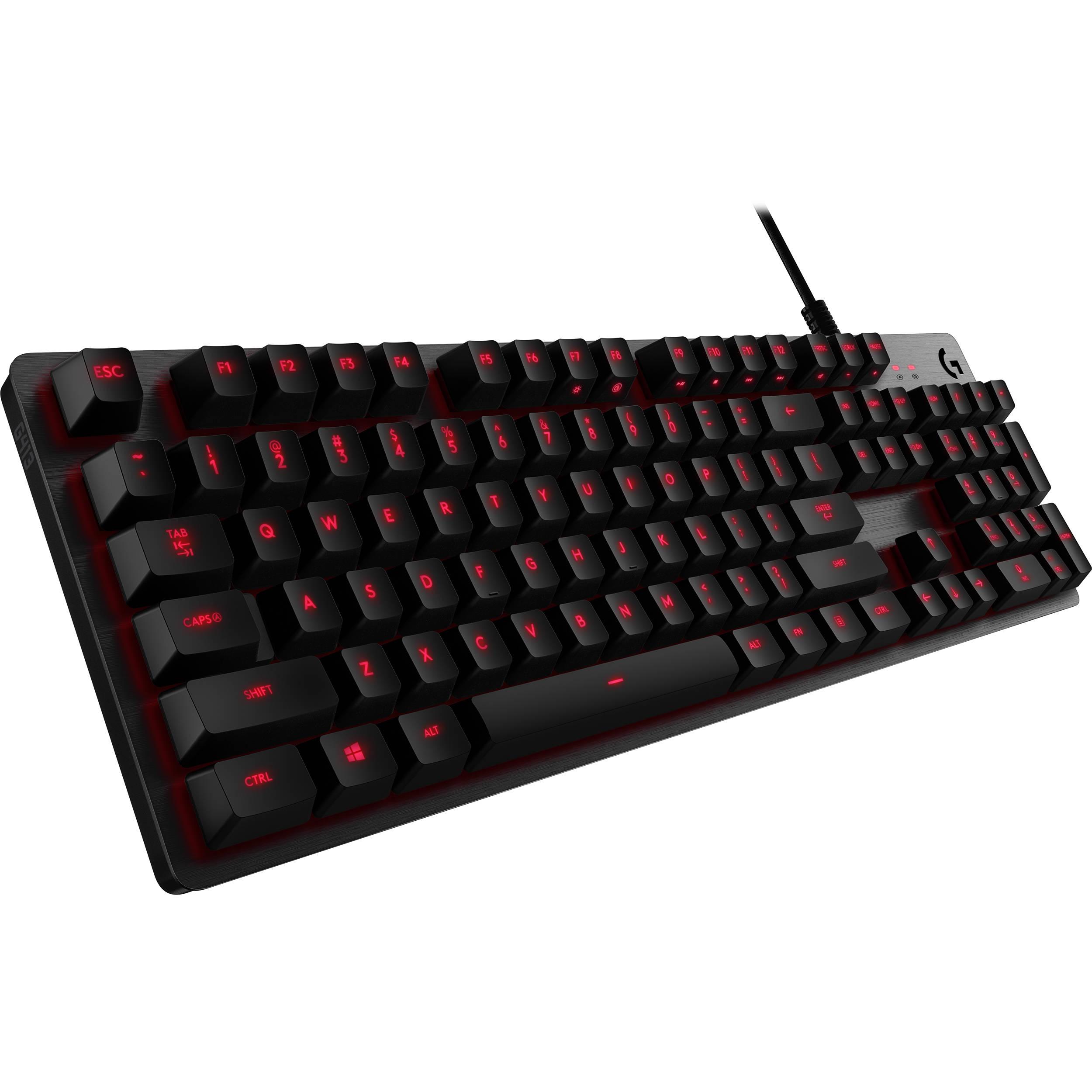 Logitech G413 Mechanical Backlit Gaming Keyboard (Carbon)