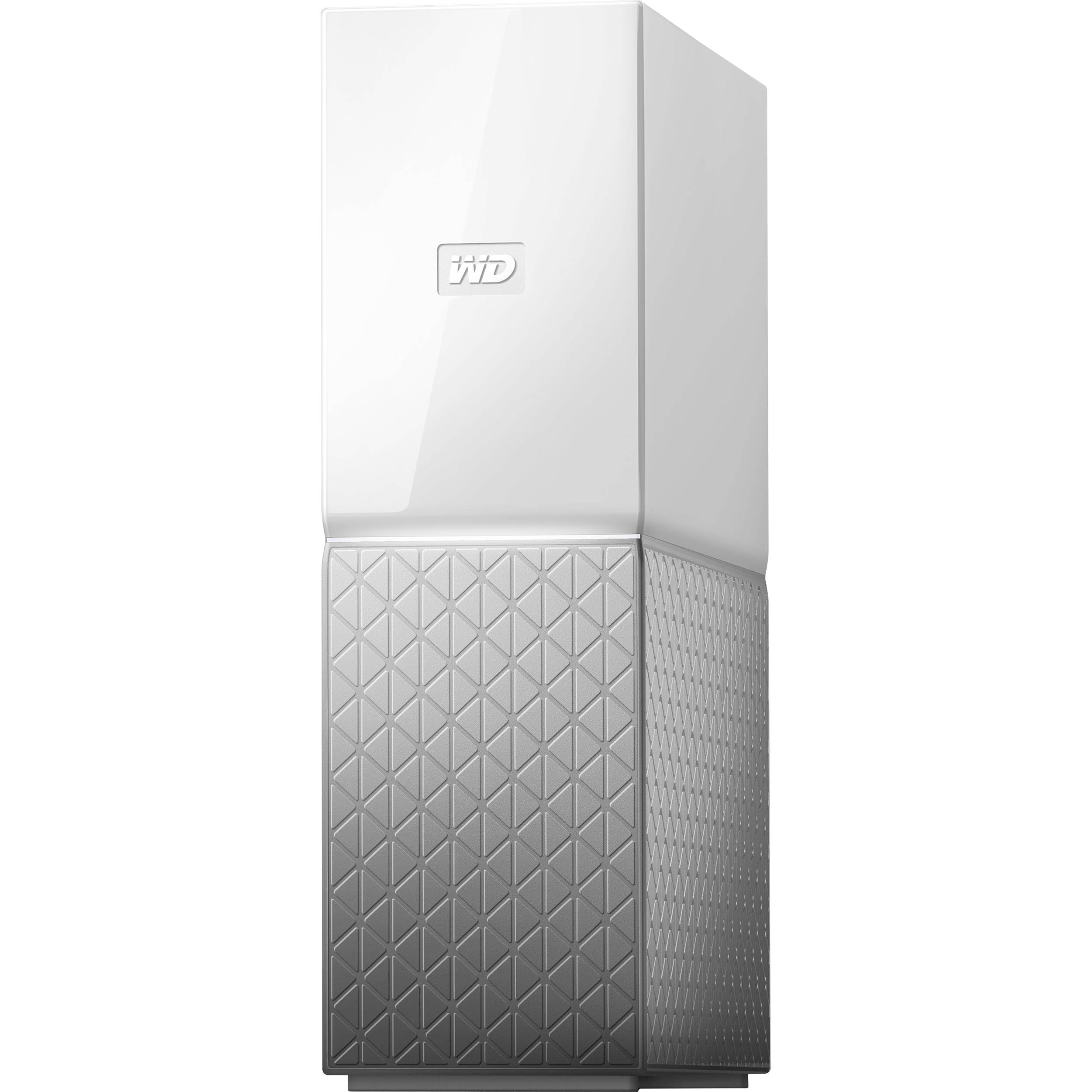 WD My Cloud Home 4TB 1-Bay Personal Cloud NAS Server (1 x 4TB)