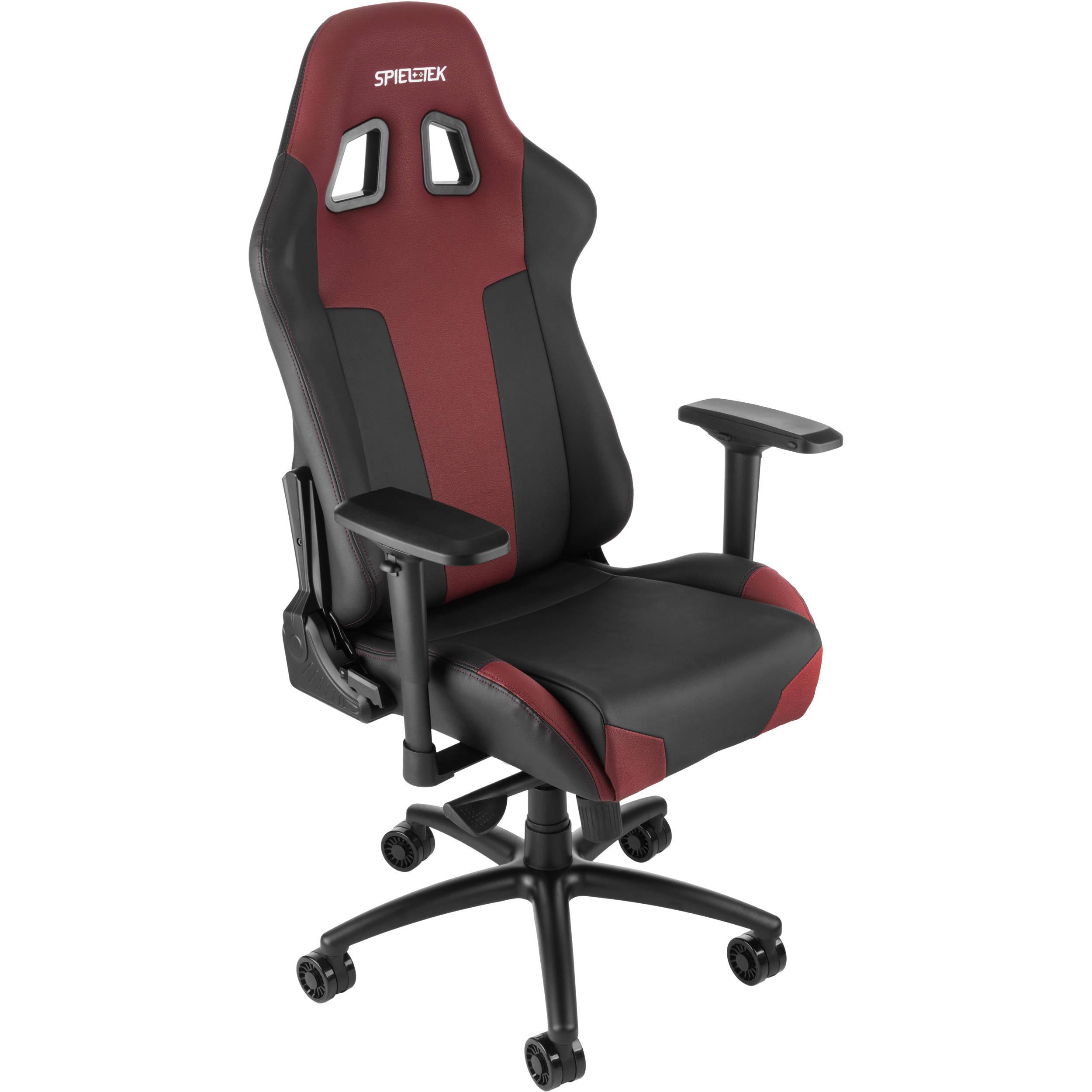 Groovy Spieltek Bandit Xl Gaming Chair V2 Black Maroon Frankydiablos Diy Chair Ideas Frankydiabloscom