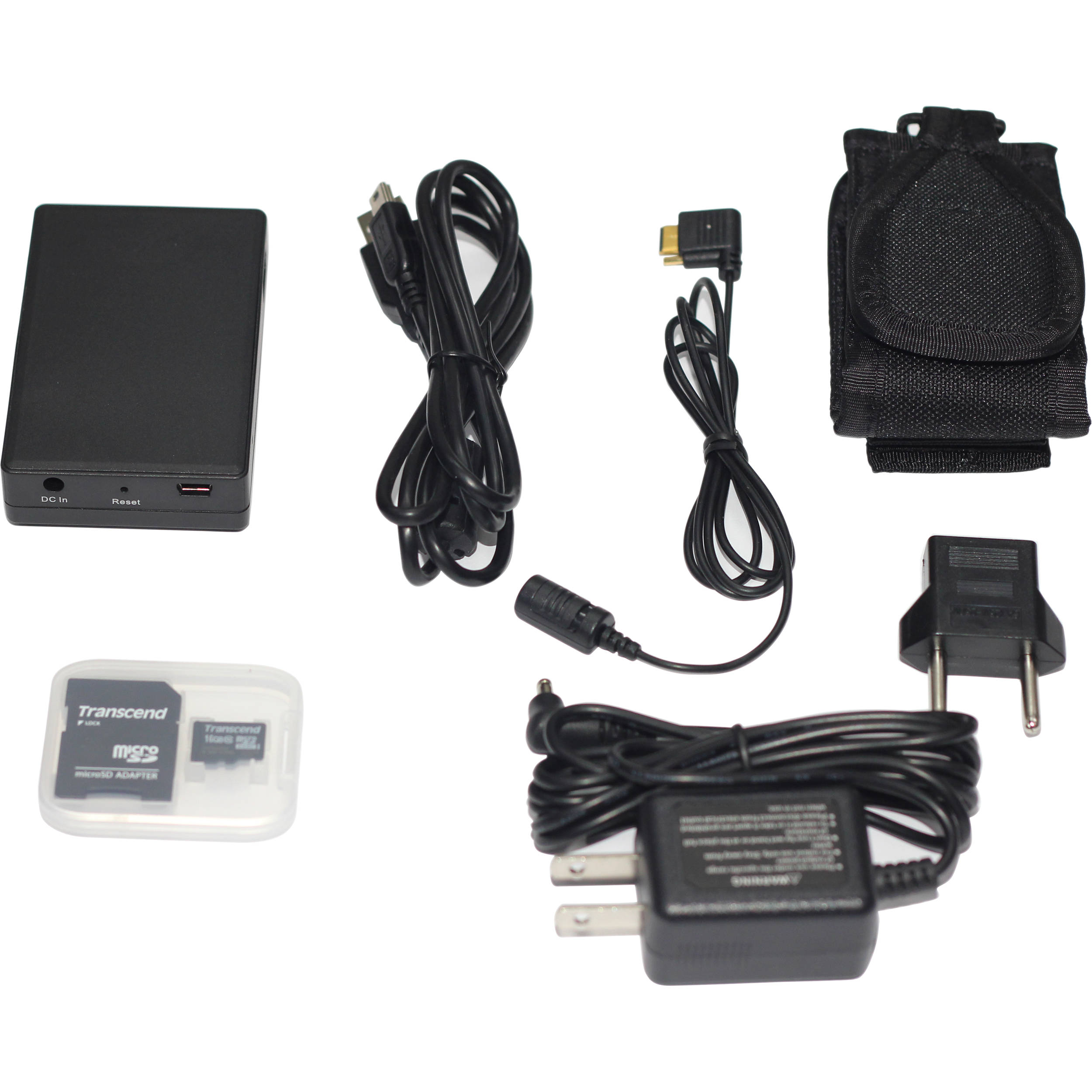 LawMate PV500W WiFi DVR and Full HD Digital Button Camera Kit