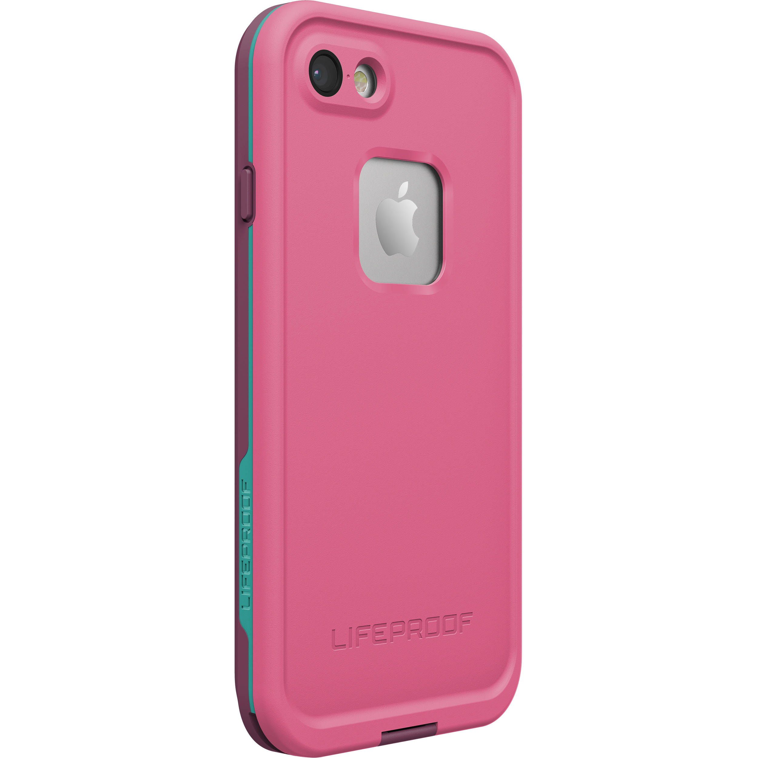 sports shoes 4a8e8 43fb0 LifeProof frē Case for iPhone 7 (Twilight's Edge Pink)