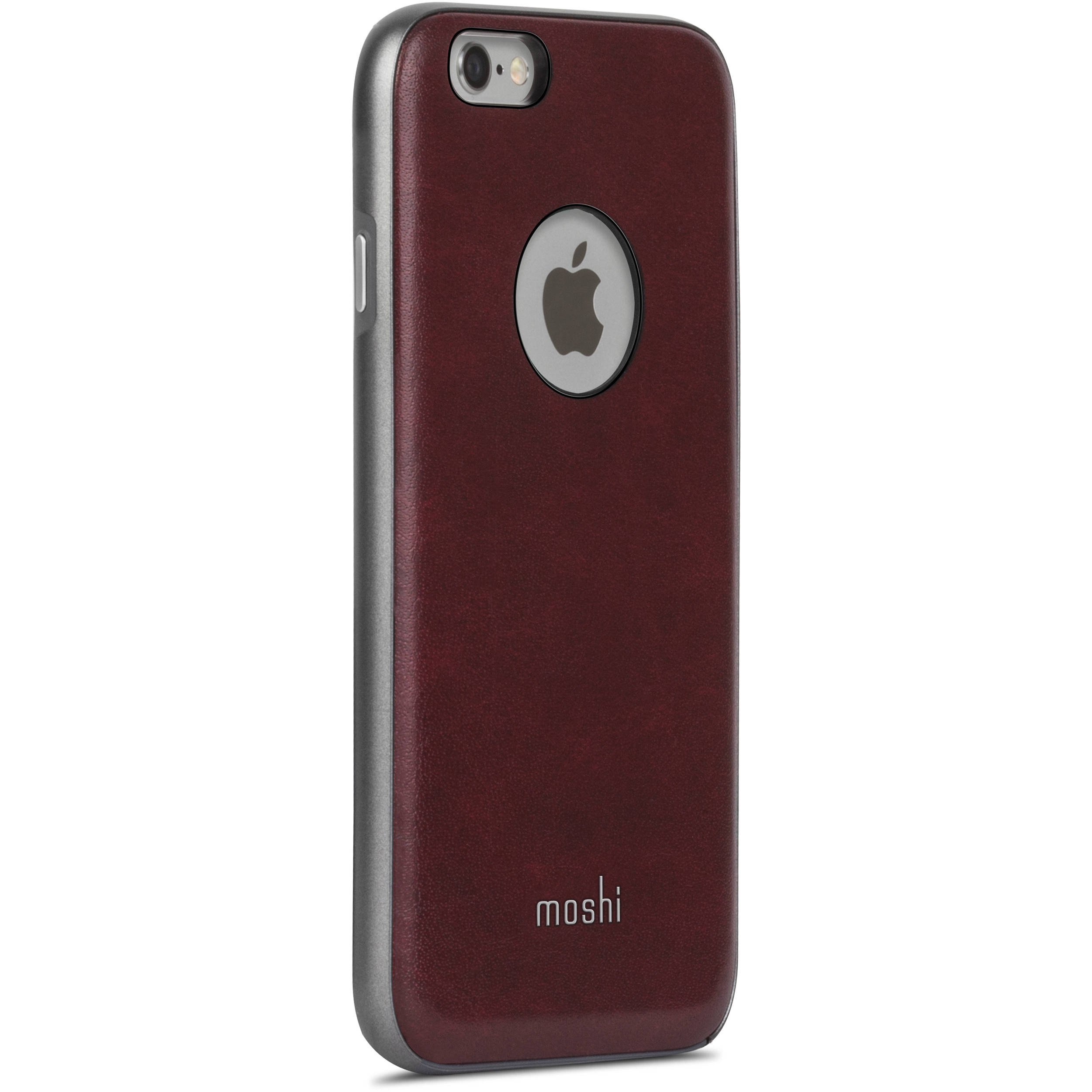 best service 73f6e 6ff3d Moshi Napa Case for iPhone 6/6s (Burgundy Red)