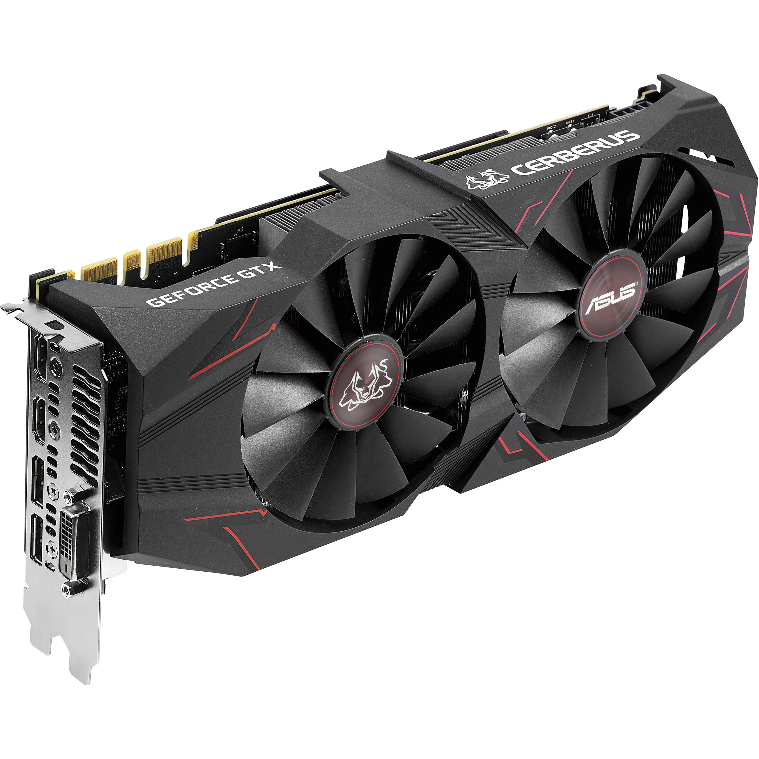 ASUS Cerberus GeForce GTX 1070 Ti Advanced Edition Graphics Card