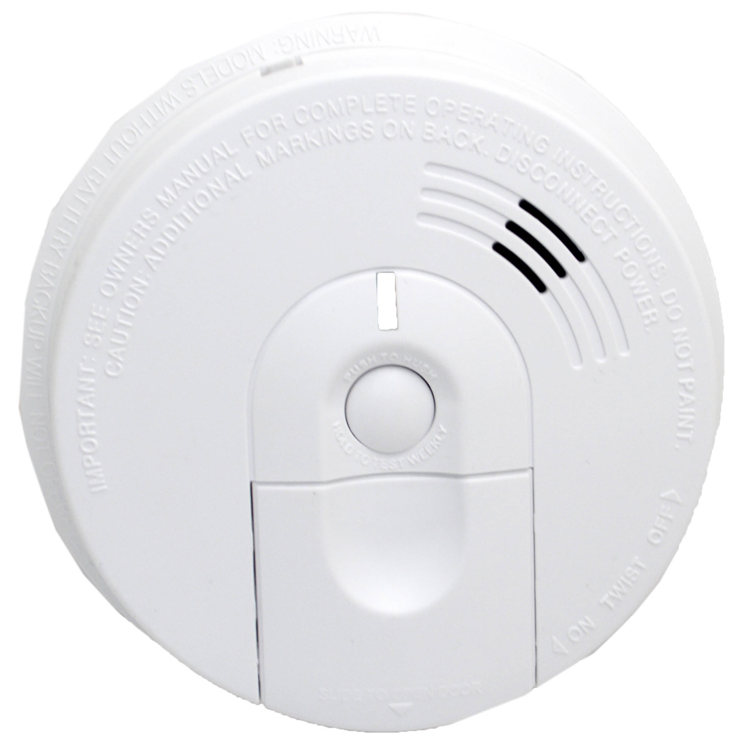 Bush Baby Stealth Hd Wi Fi Hardwired Smoke Detector