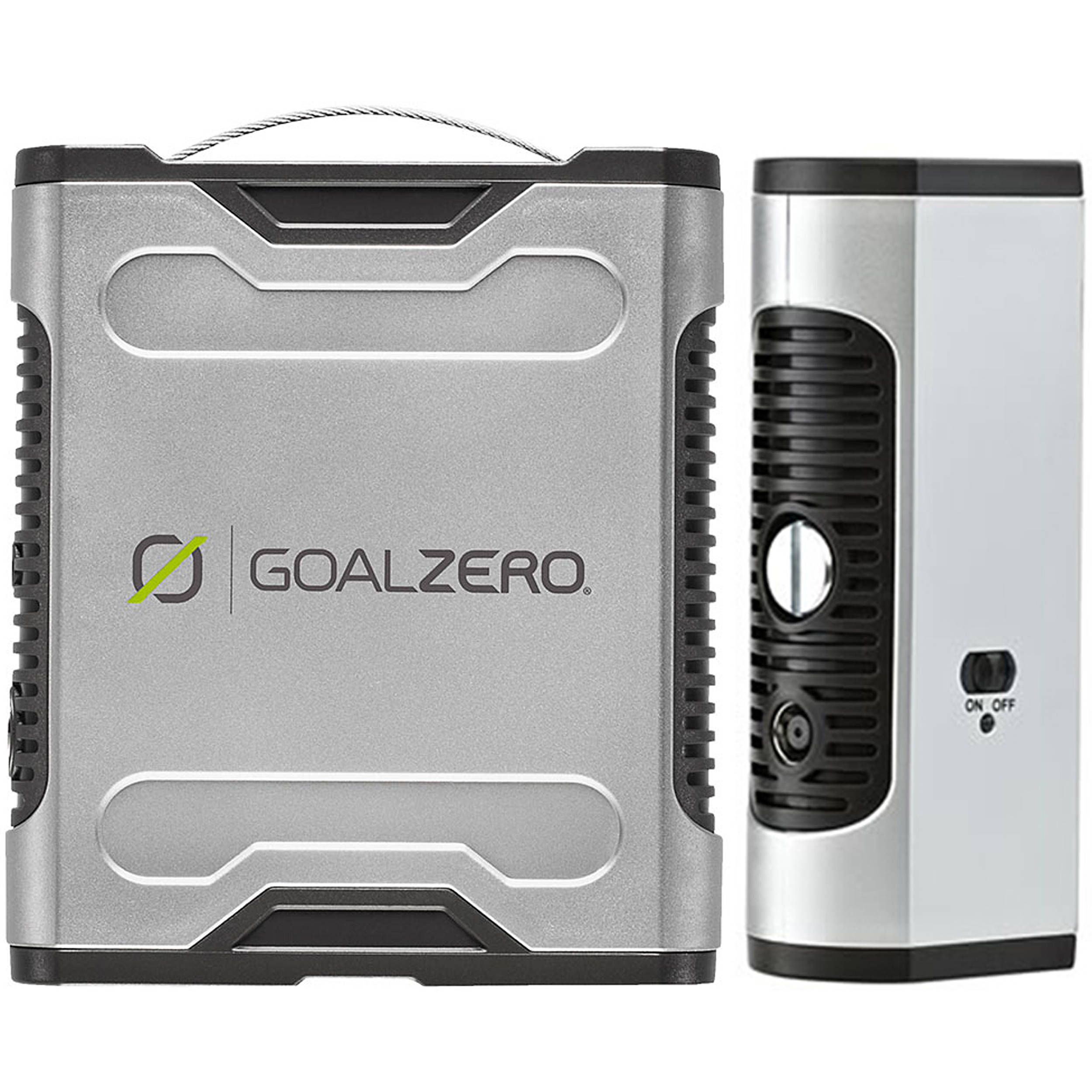 Goal Zero Sherpa 50 Power Pack With 110V AC Inverter 5200mAh//58Wh
