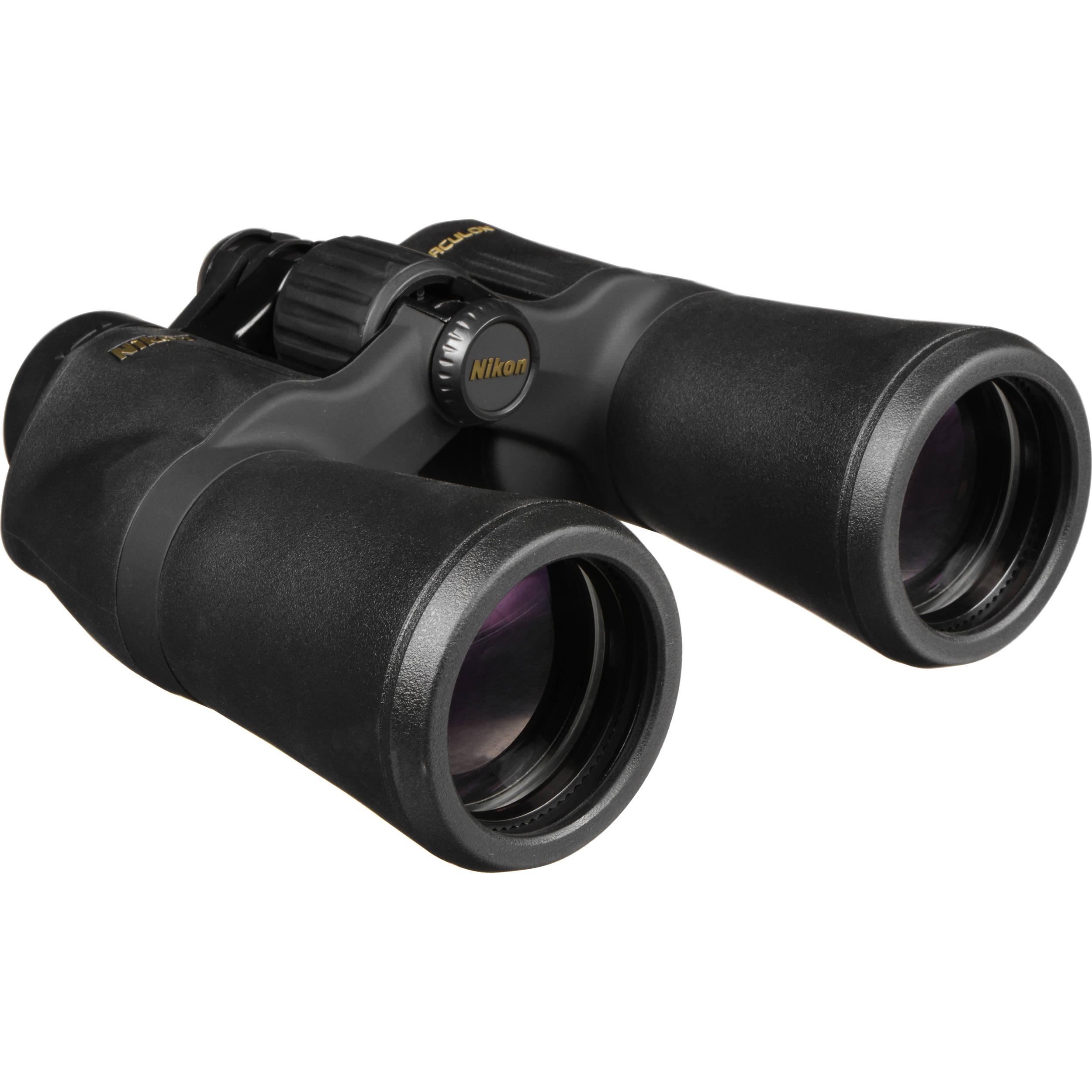 Hama Optec 10x50 Rucksack With Rain Cover For Nikon Aculon A211 10x42 10x50