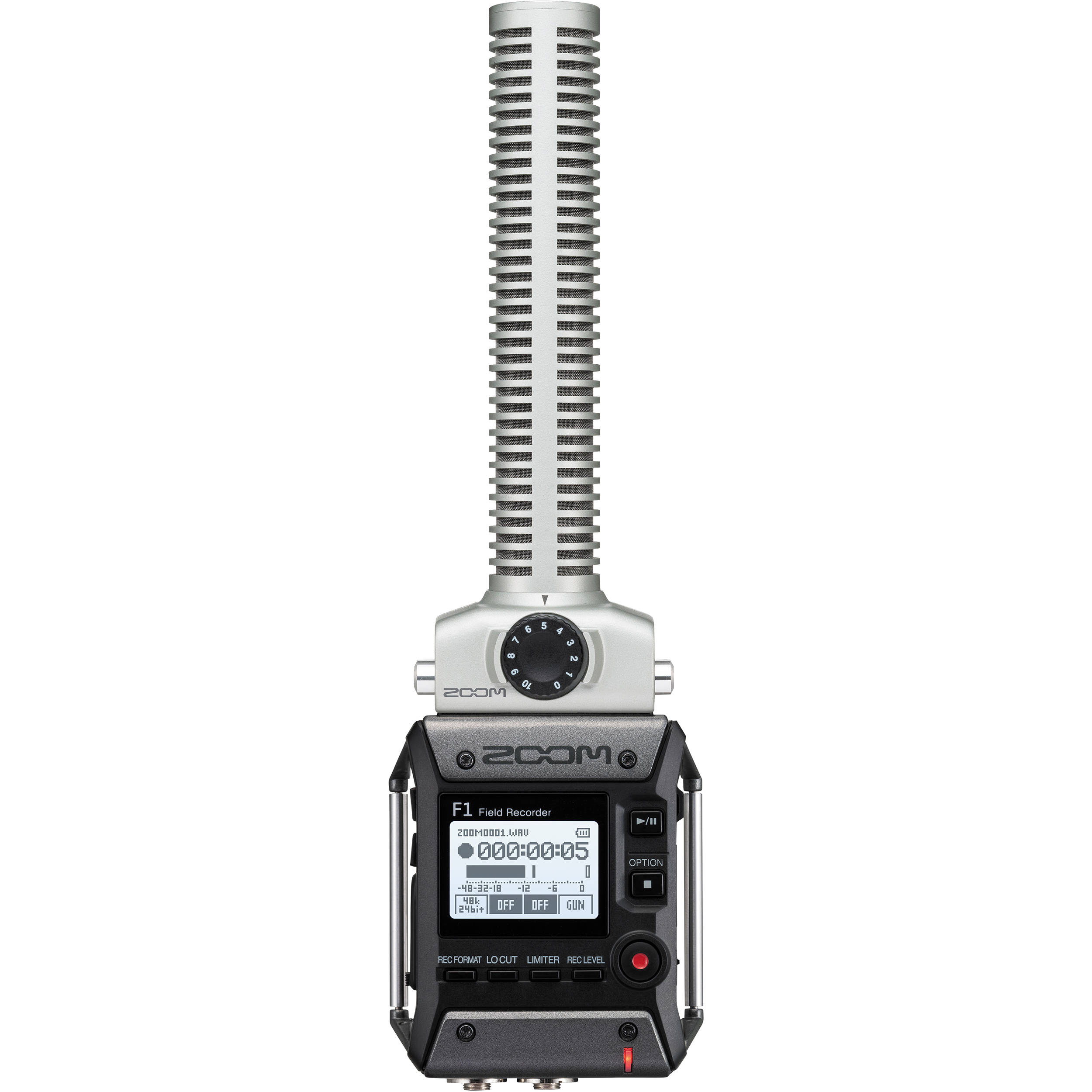 Zoom F1-SP 2-Input / 2-Track Portable Field Recorder with Shotgun Microphone