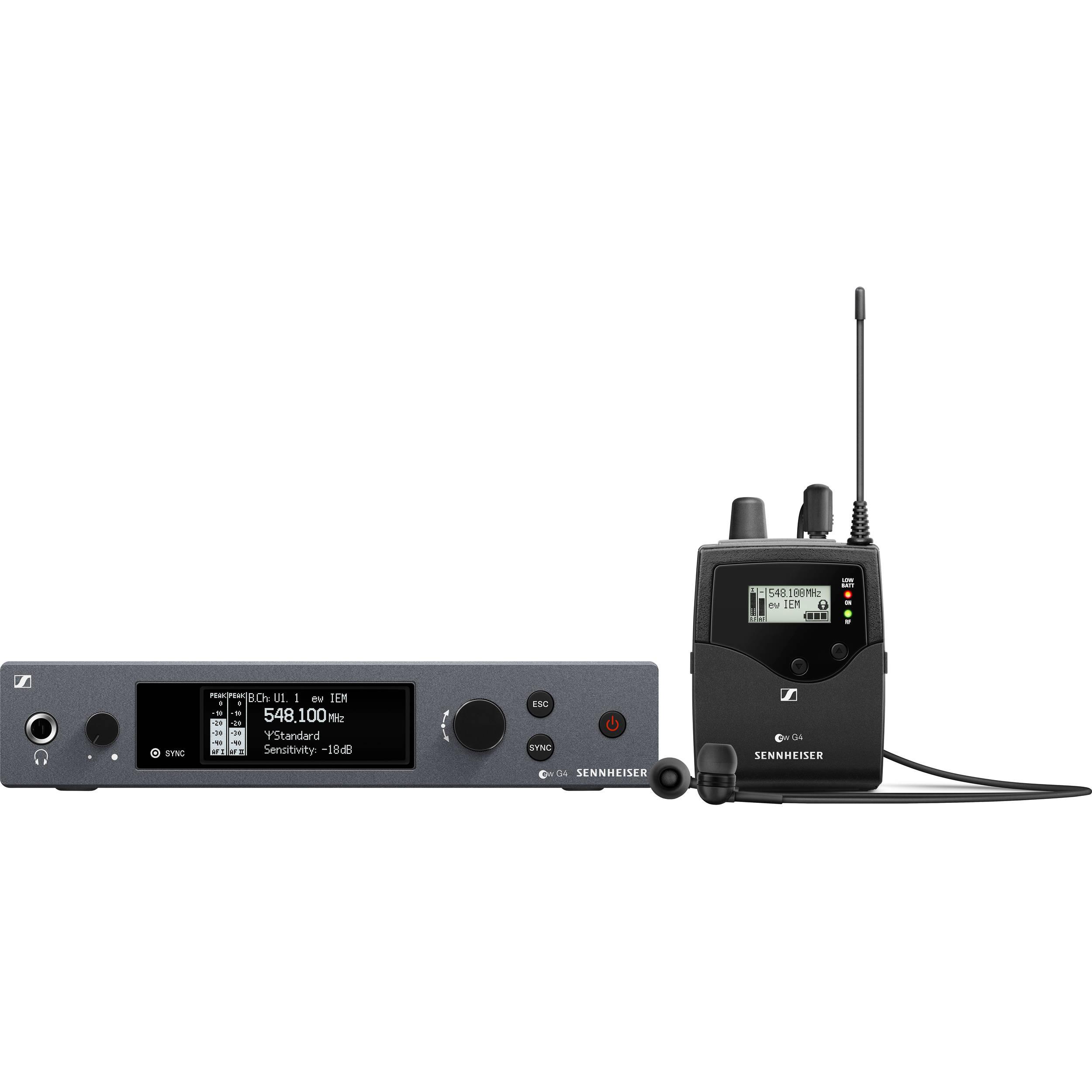 Sennheiser ew IEM G9 Wireless Monitor System (A: 9 to 9 MHz)
