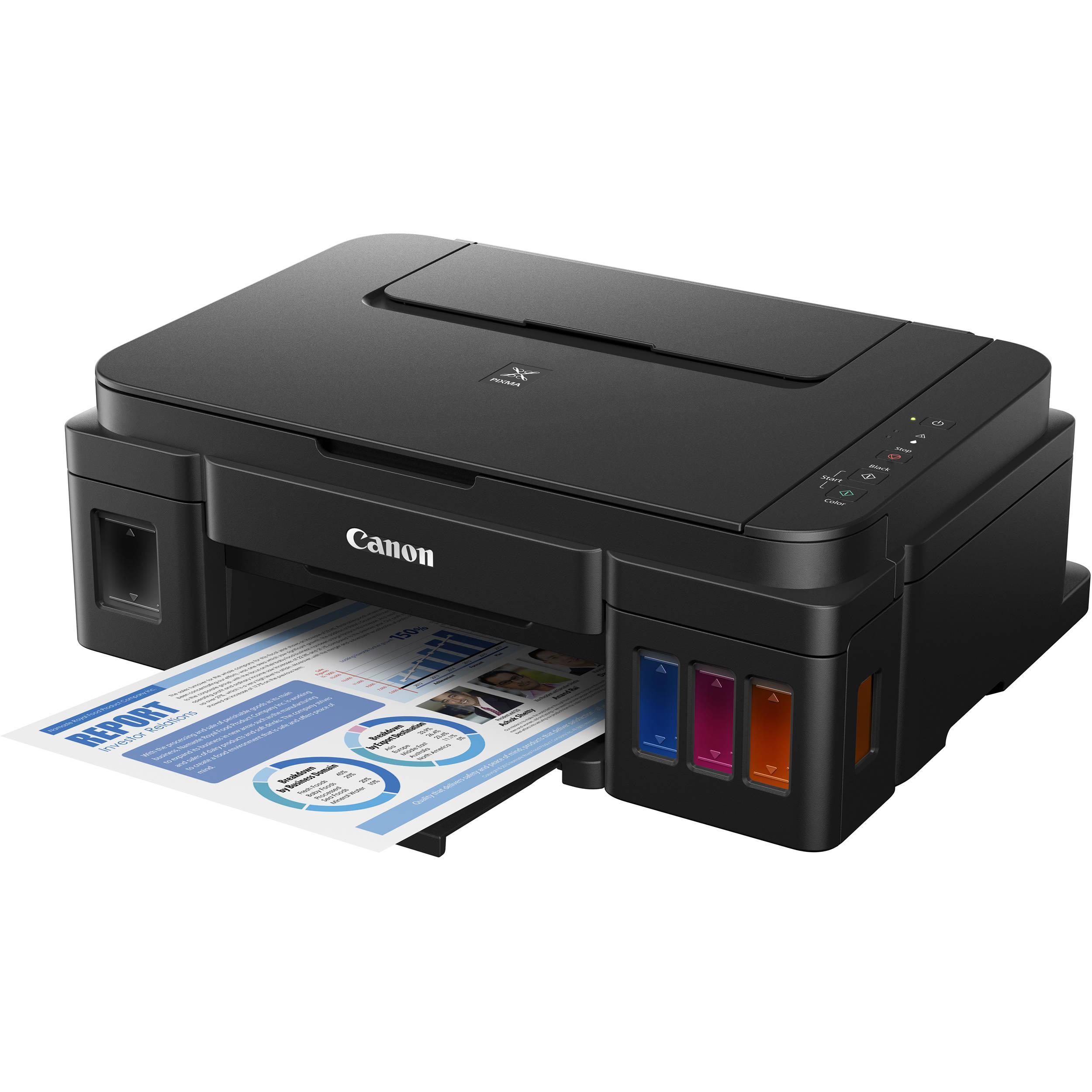 Canon PIXMA G2200 MegaTank All-in-One Inkjet Printer