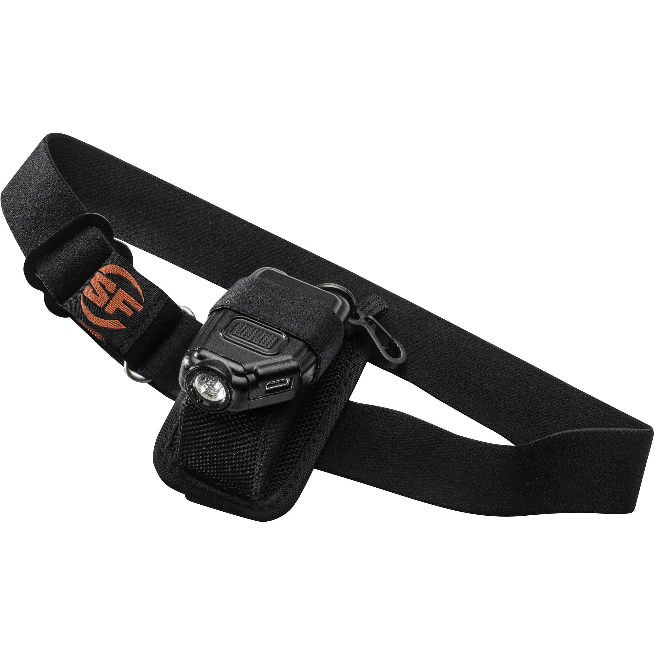 Elastic adjustable headband belt headlight lamp head strap for flashlight RS