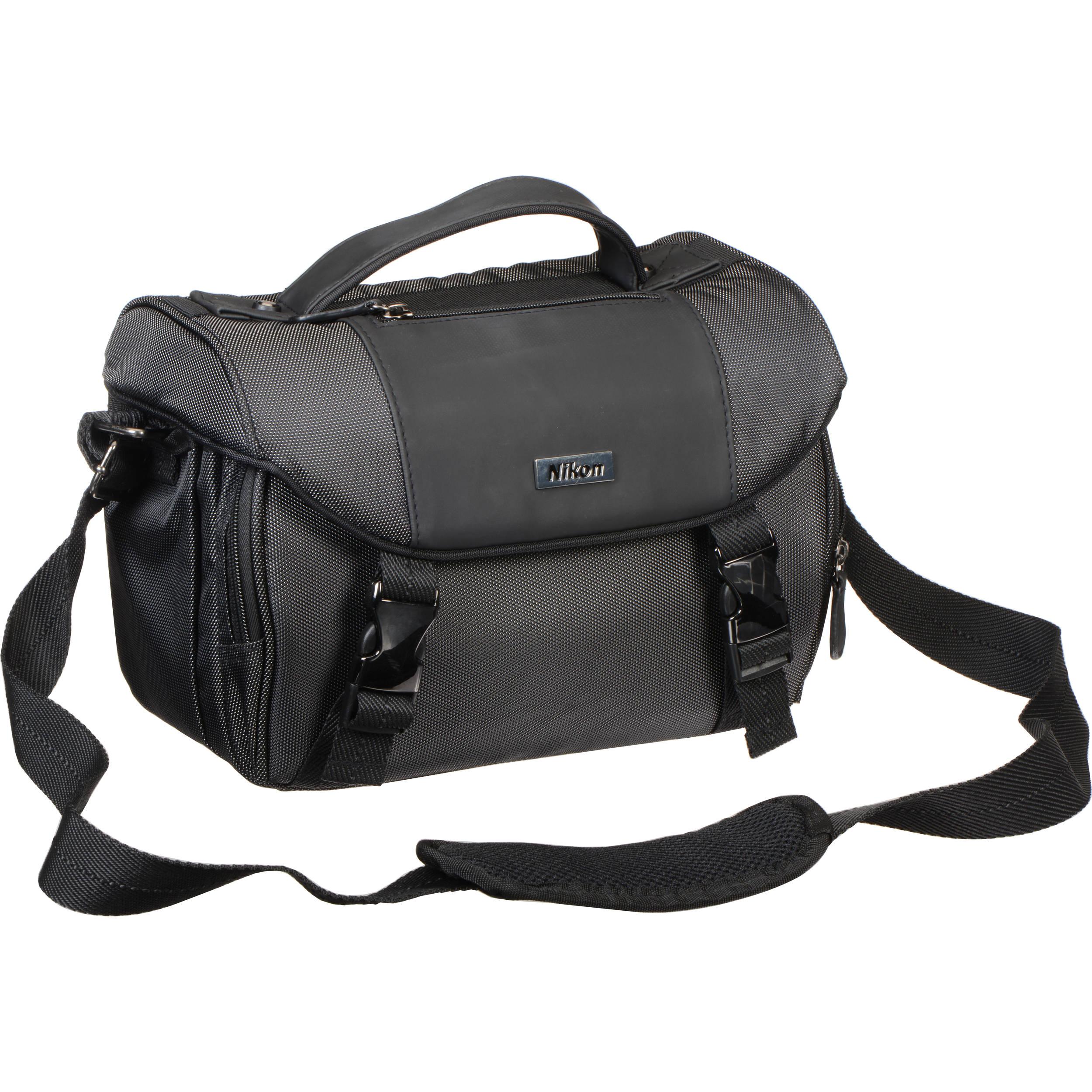 2068cdde918b Nikon Deluxe Digital SLR Camera Case (Black)