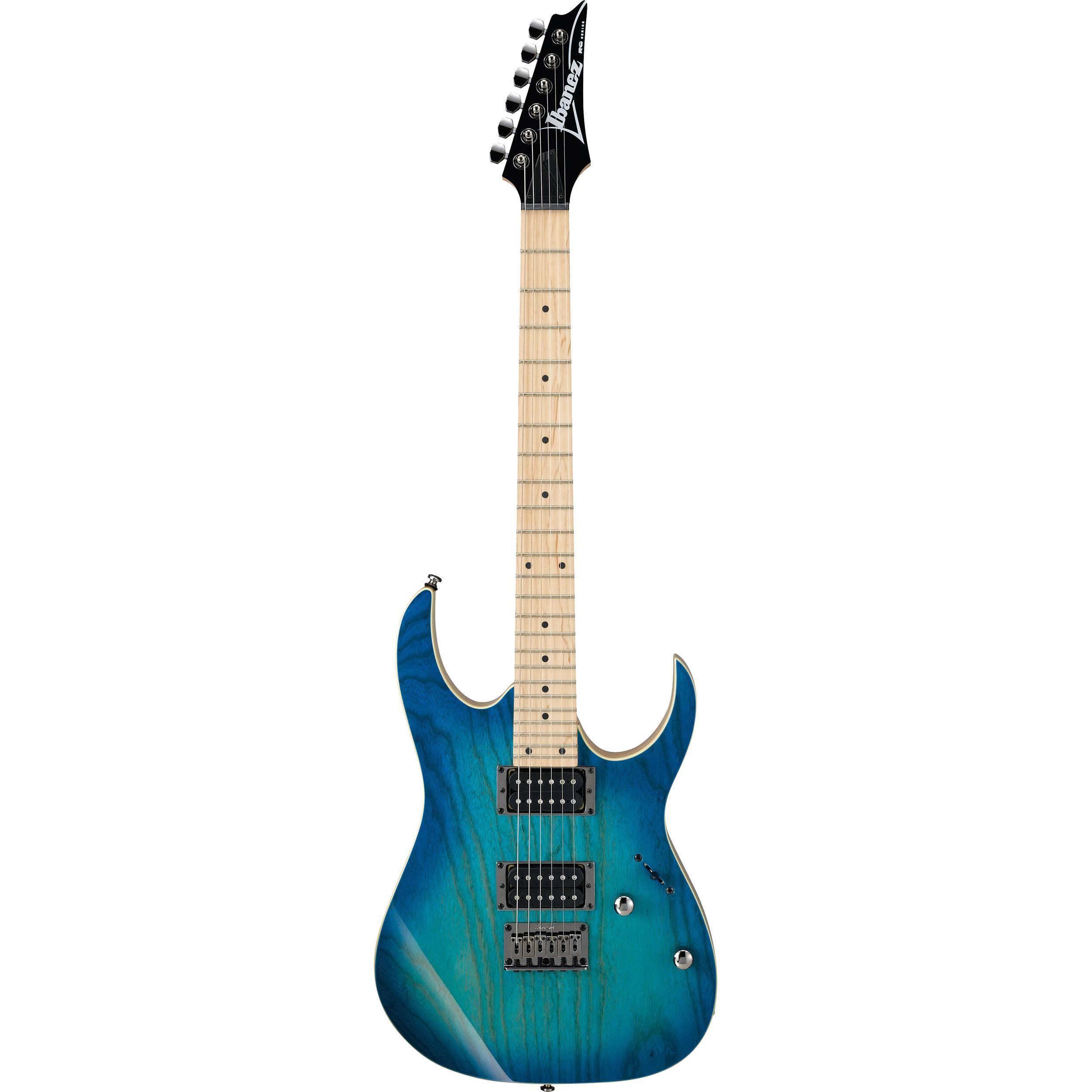 Ibanez RG421AHM RG Standard Series Electric Guitar (Blue Moon Burst)
