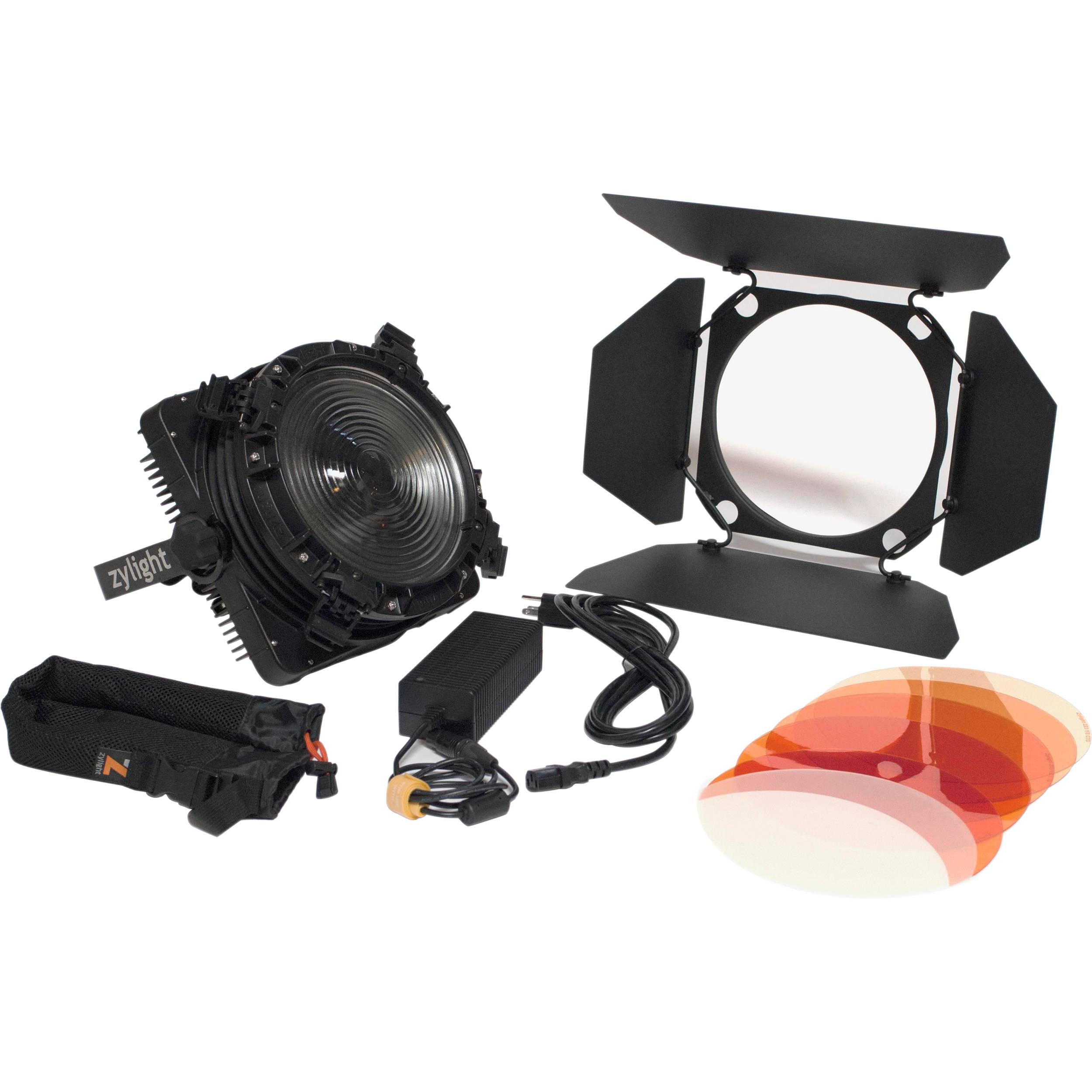 Zylight F8-D LED Fresnel Single Head ENG Kit with V-Mount (No Case)