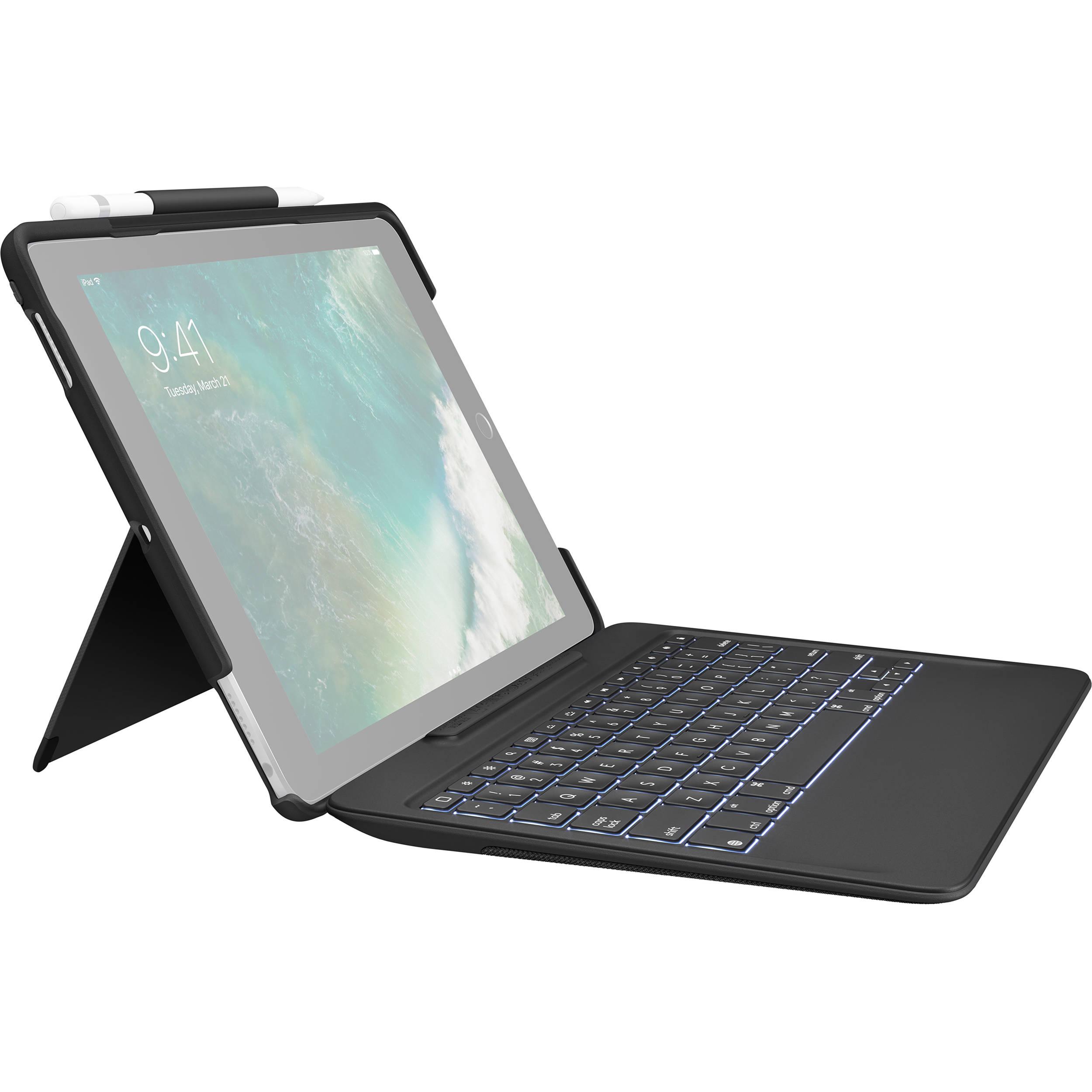 Logitech SLIM COMBO Keyboard Case for Apple iPad Pro 10 5