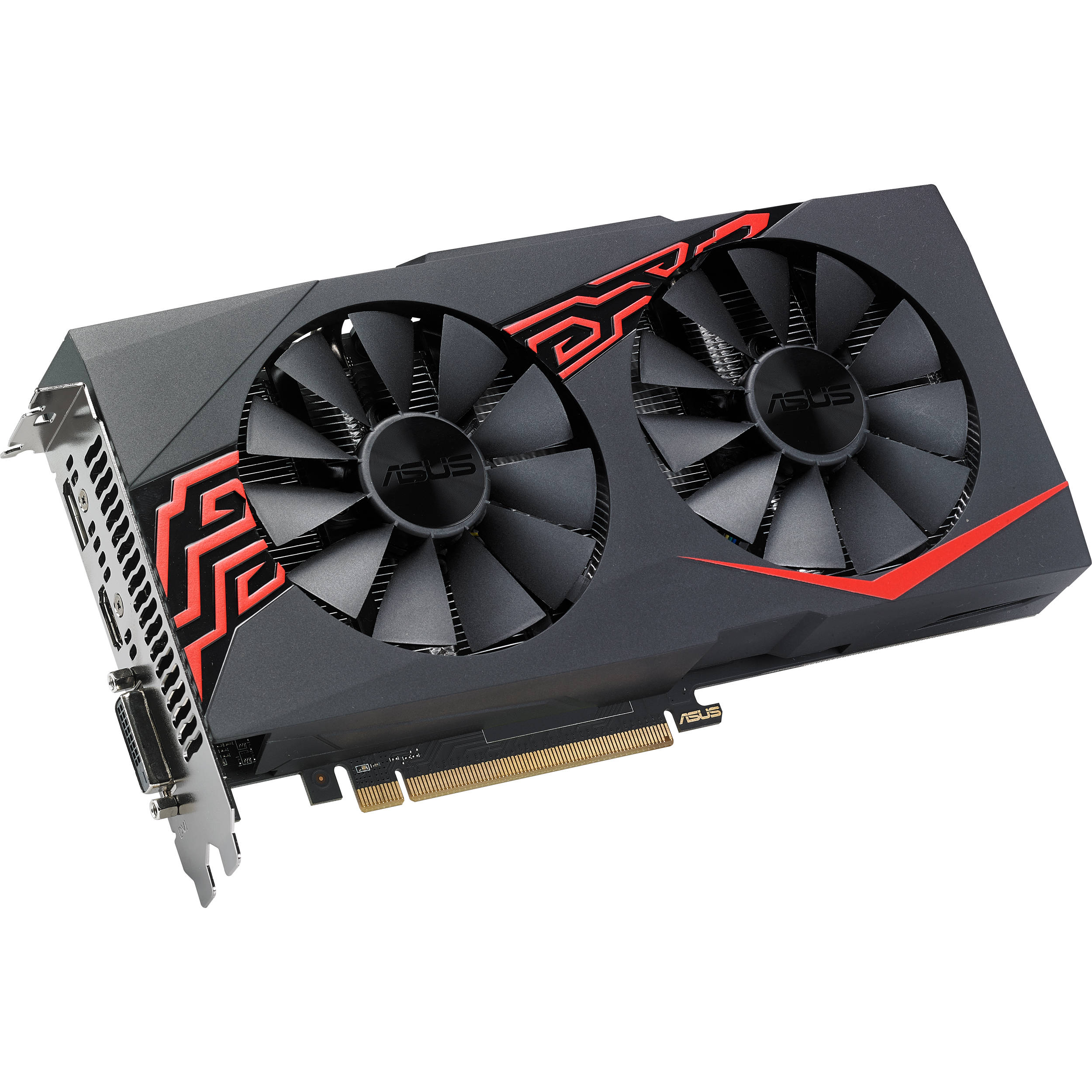 ASUS Expedition Radeon RX 570 8GB OC Edition Gaming Graphics Card