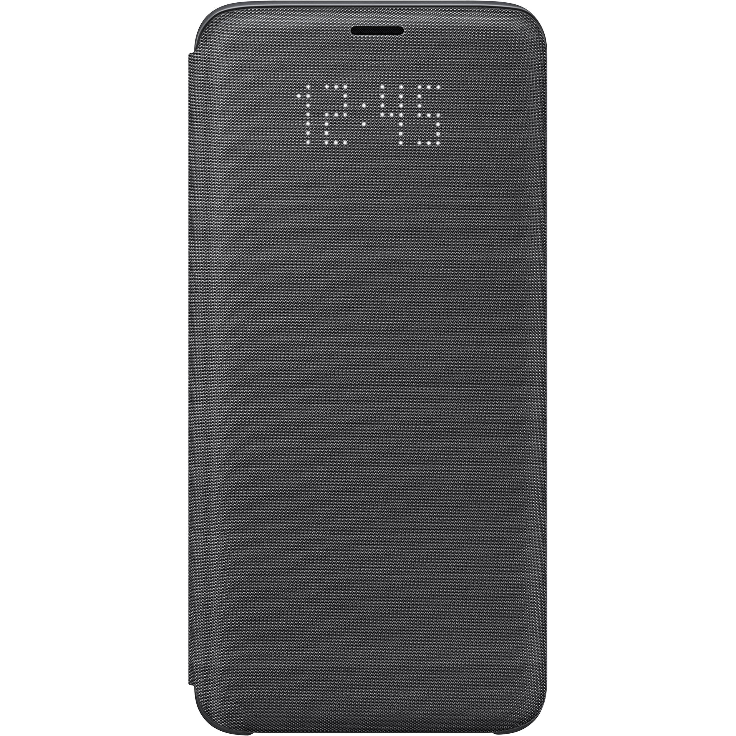 on sale 13501 694e7 Samsung LED Wallet Case for Samsung Galaxy S9 (Black)