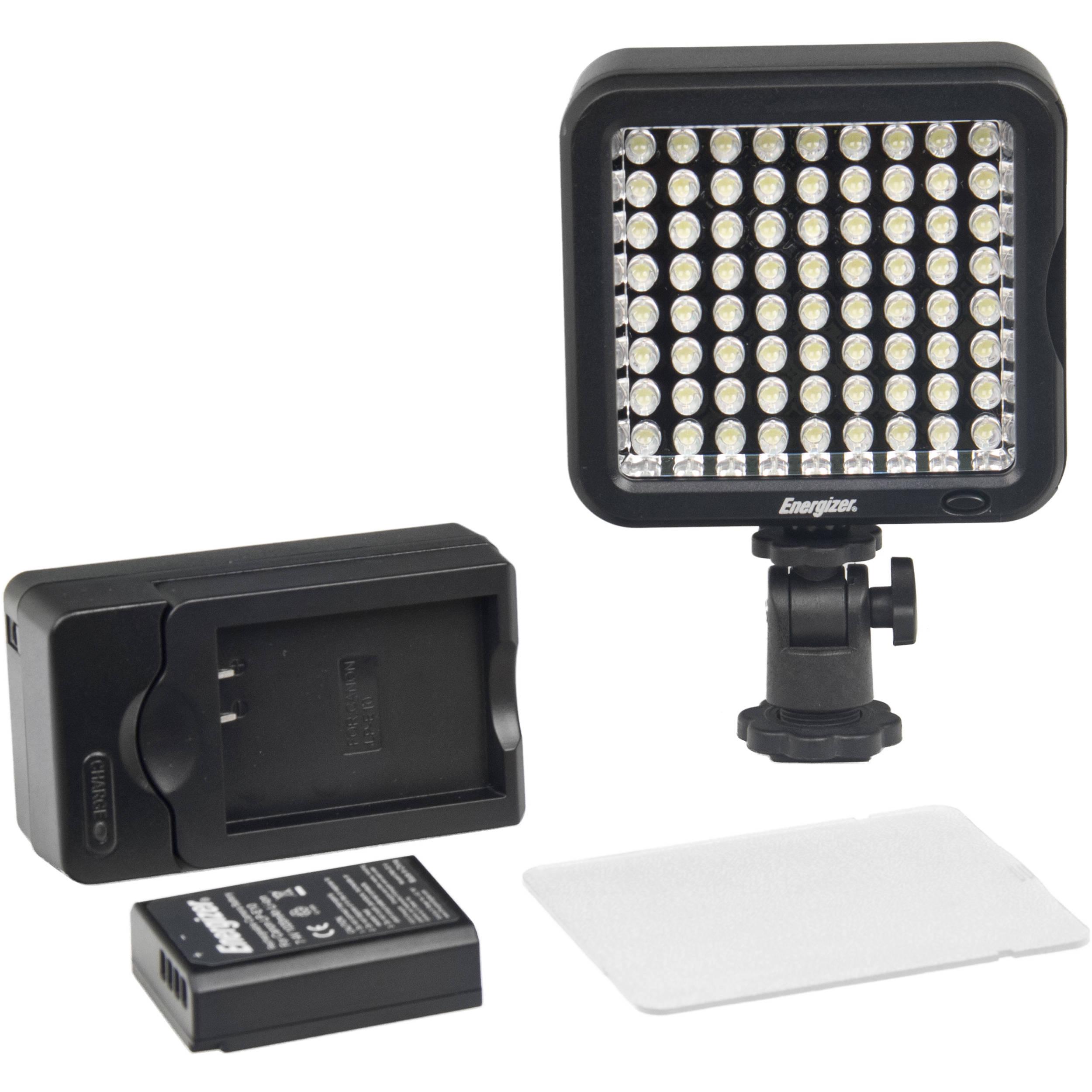 Energizer 72-Bulb LED Video Light (Daylight)