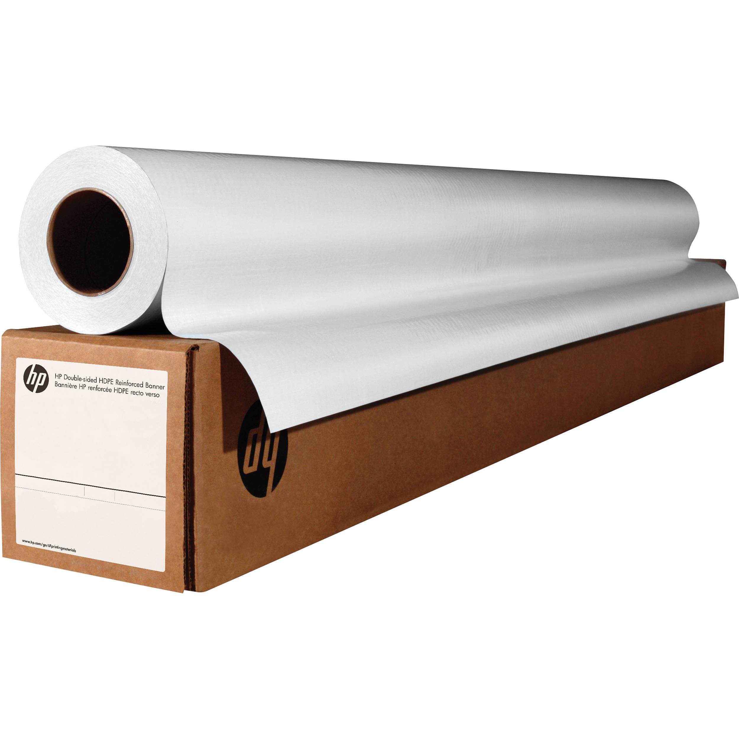 image relating to Printable Vinyl Rolls referred to as HP Double-Sided Blockout Banner (54\