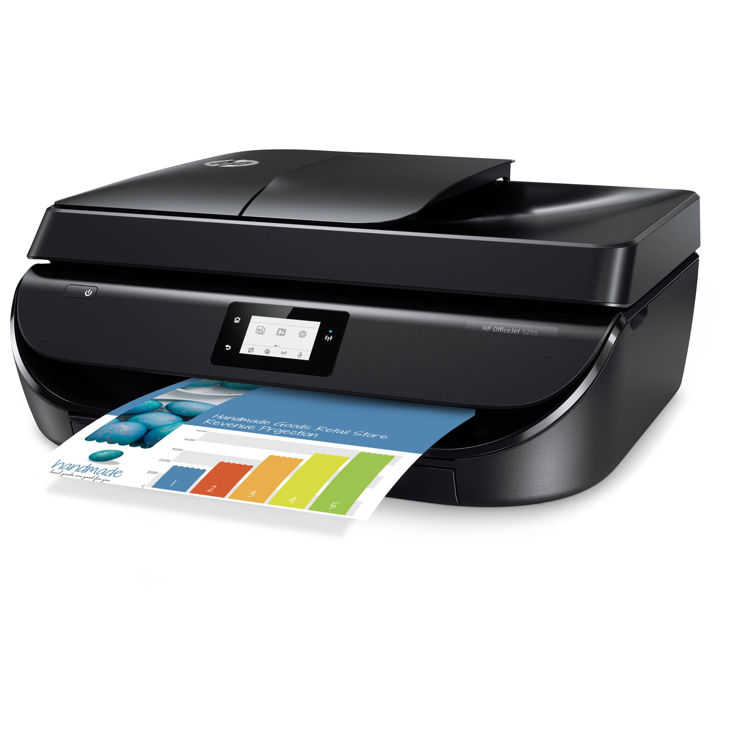 HP OfficeJet 5255 All-in-One Inkjet Printer